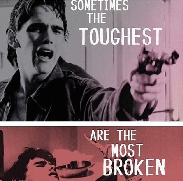 Famous Quotes From The Outsiders >> The Outsiders Dally Winston Quotes. QuotesGram