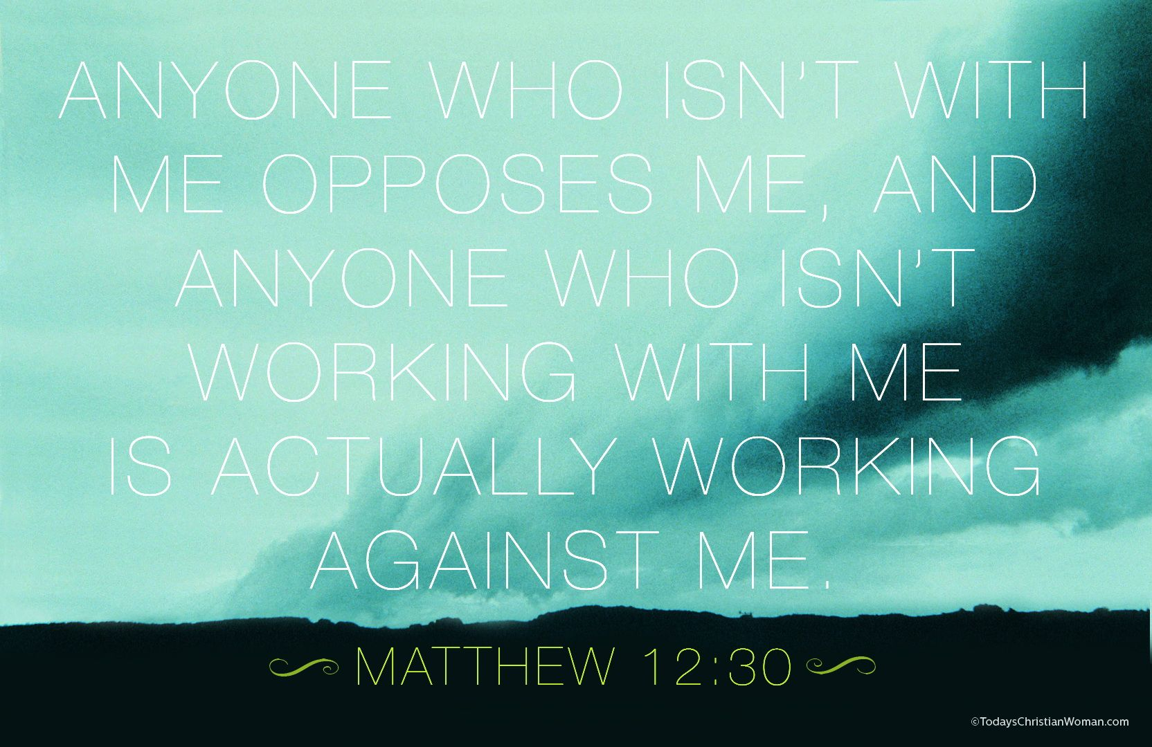 Image result for  Matthew 12:30