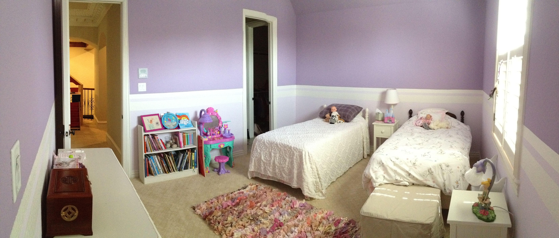 Little Girls Bedroom Purple Twin Beds Kids Projects Pinterest
