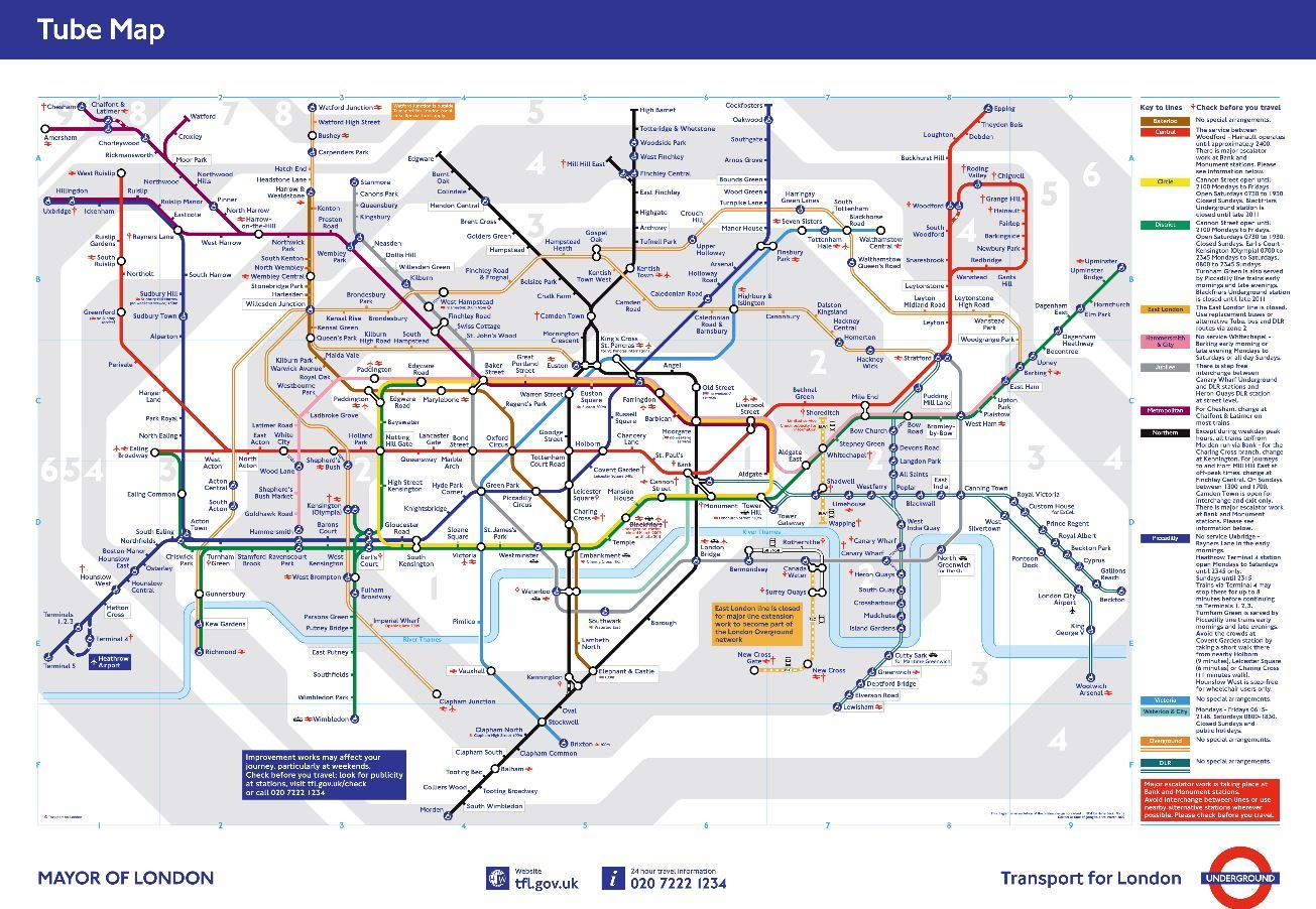 London Underground Map - http://www.tfl.gov.uk/maps/track/tube ...