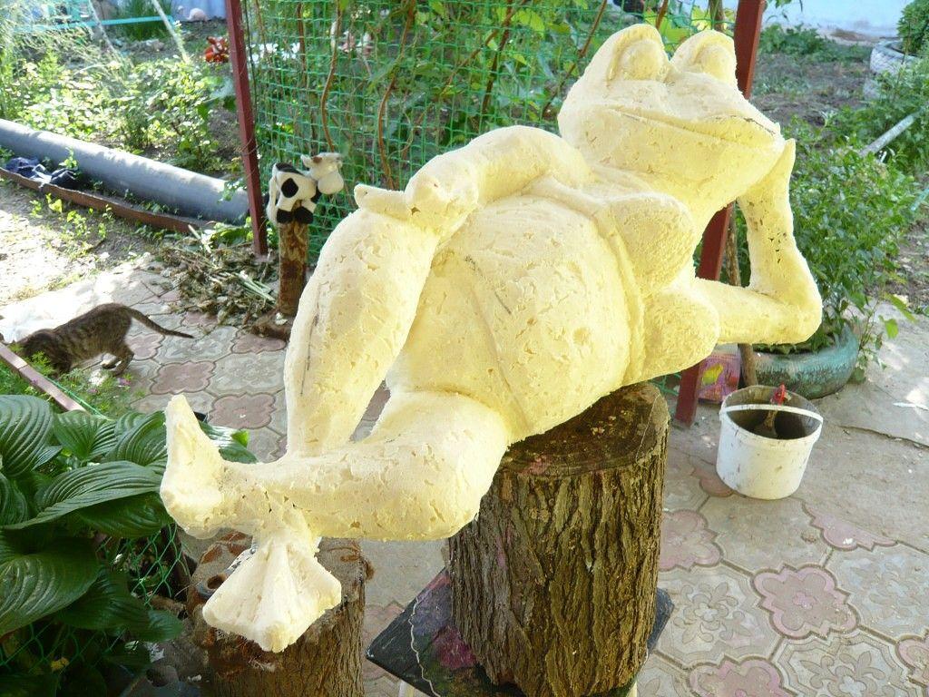 Скульптуры из монтажной пены своими руками мастер класс 8