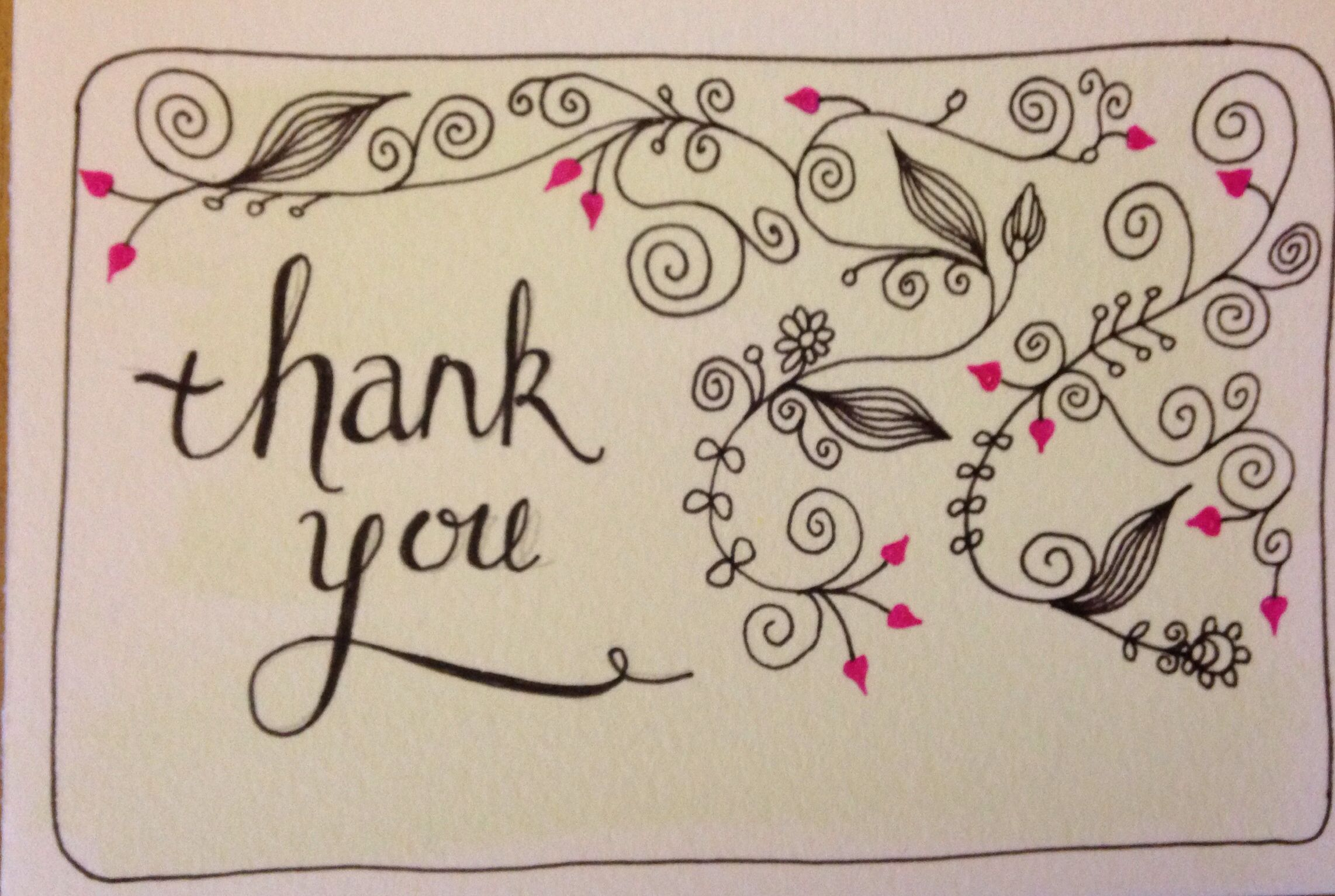 Dissertation thank you notes