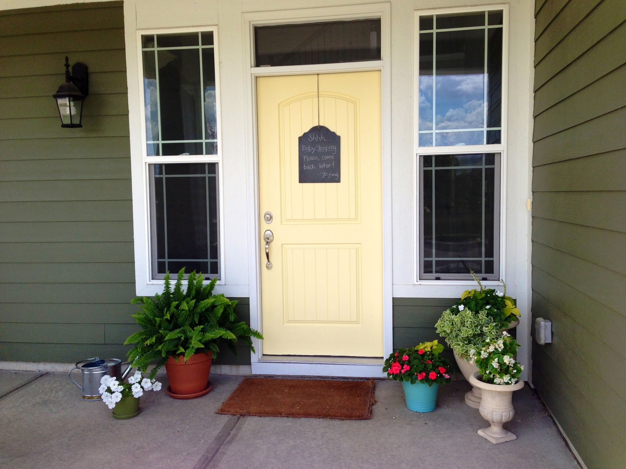 Front Door Hawthorne Yellow For The Home Pinterest