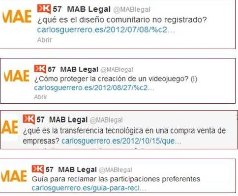 MAB Legal, abogados, redes sociales, marketing online