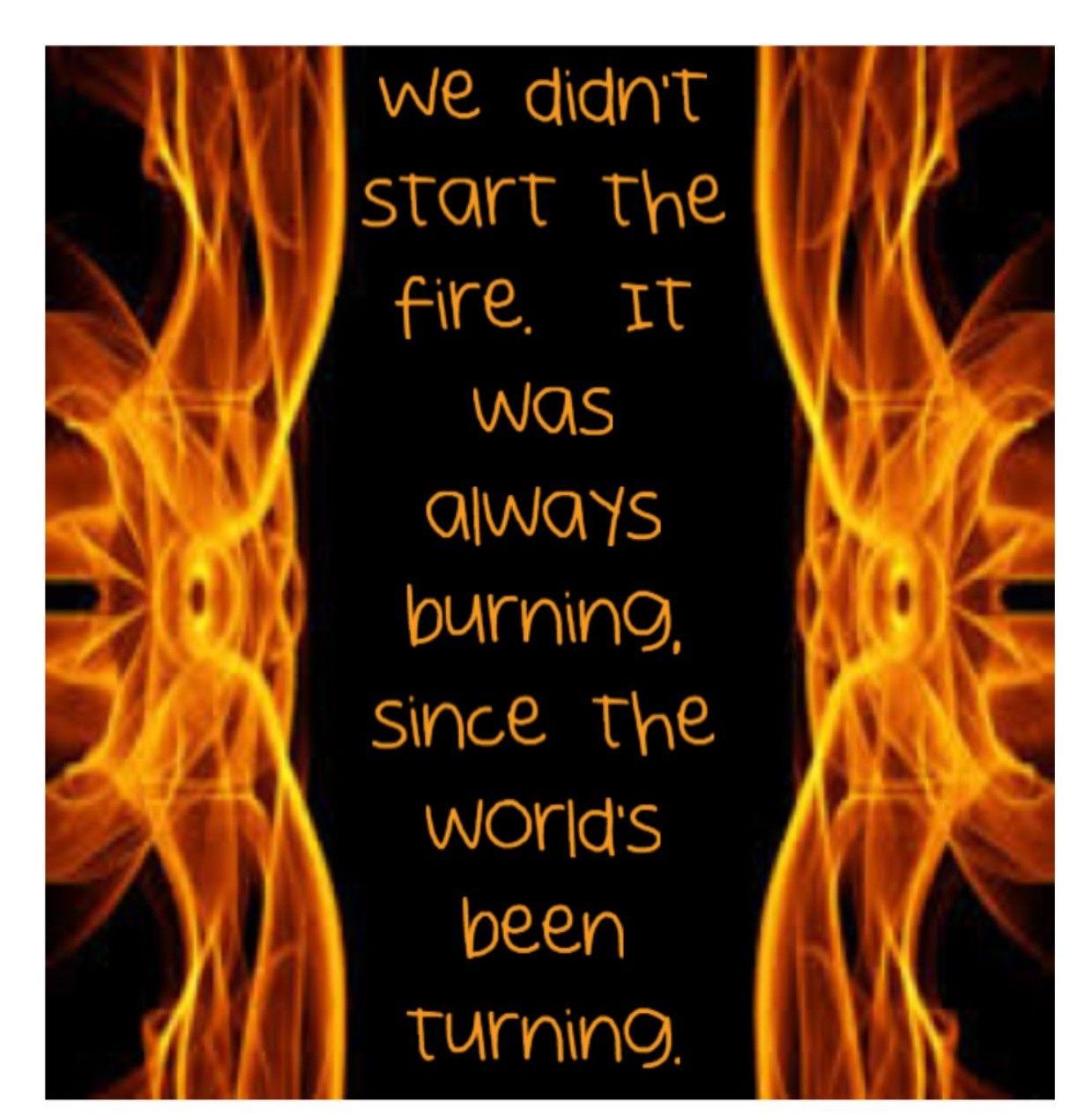 We Didn T Start The Fire Billy Joel: We Didn't Start The Fire ~ Billy Joel