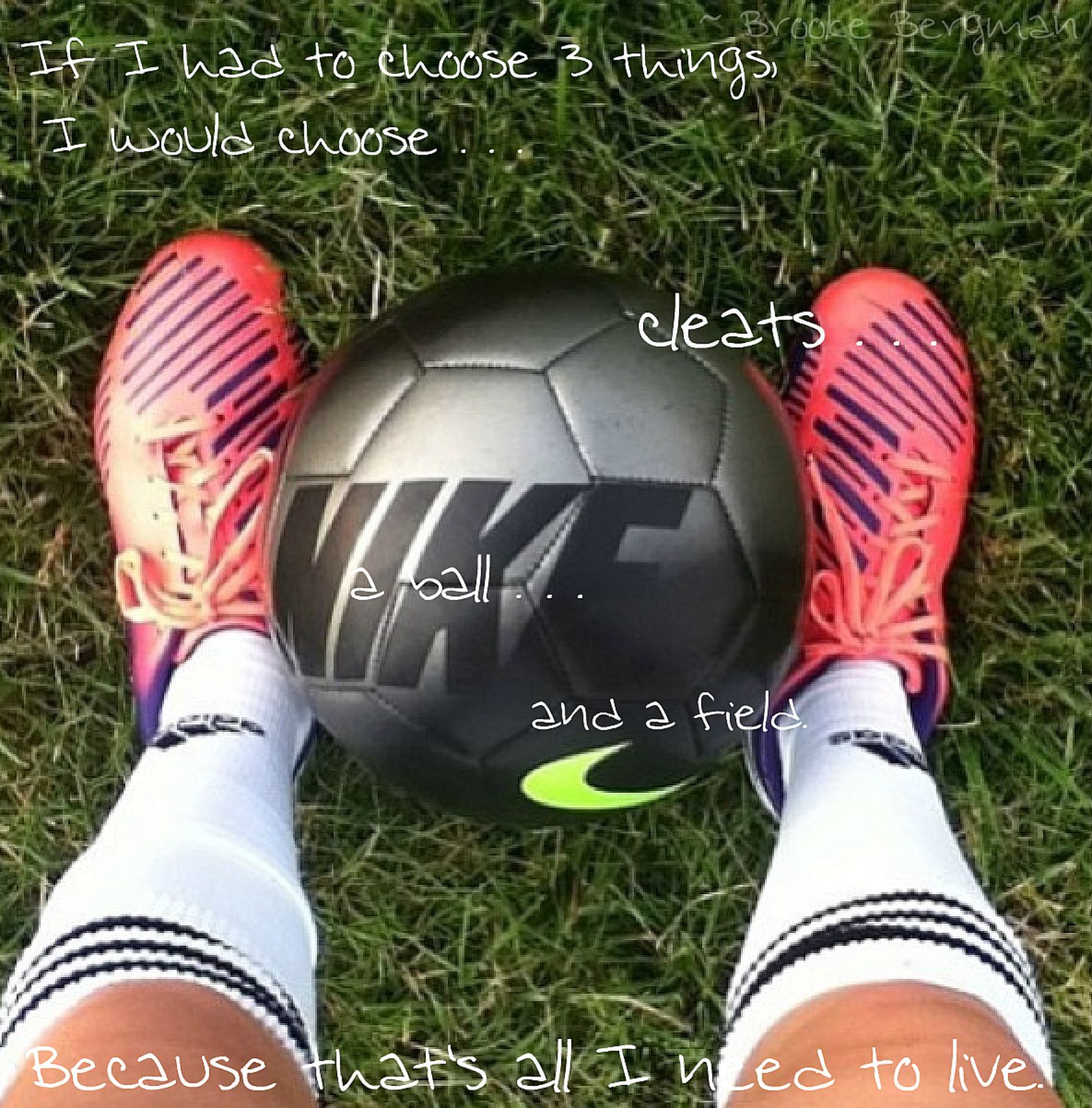 Soccer Cleats Quotes Quotesgram
