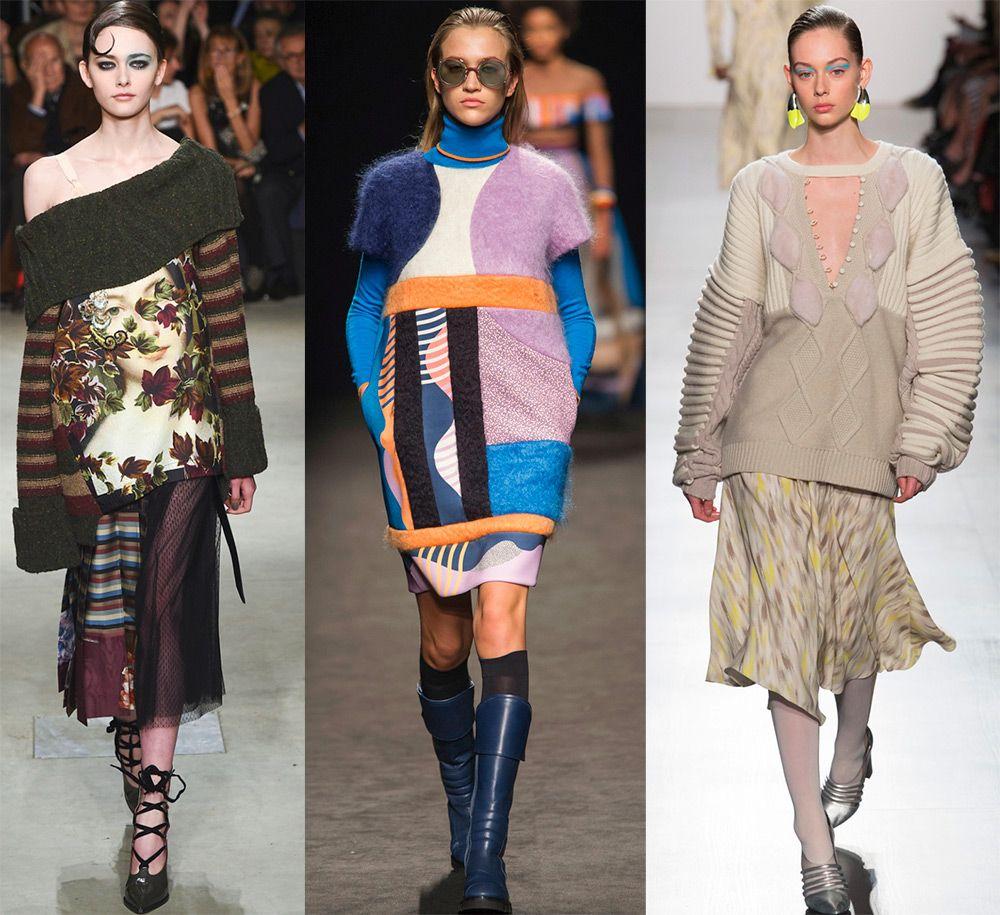 Модный Трикотаж 2018 года: тенденции осени, зимы и весны