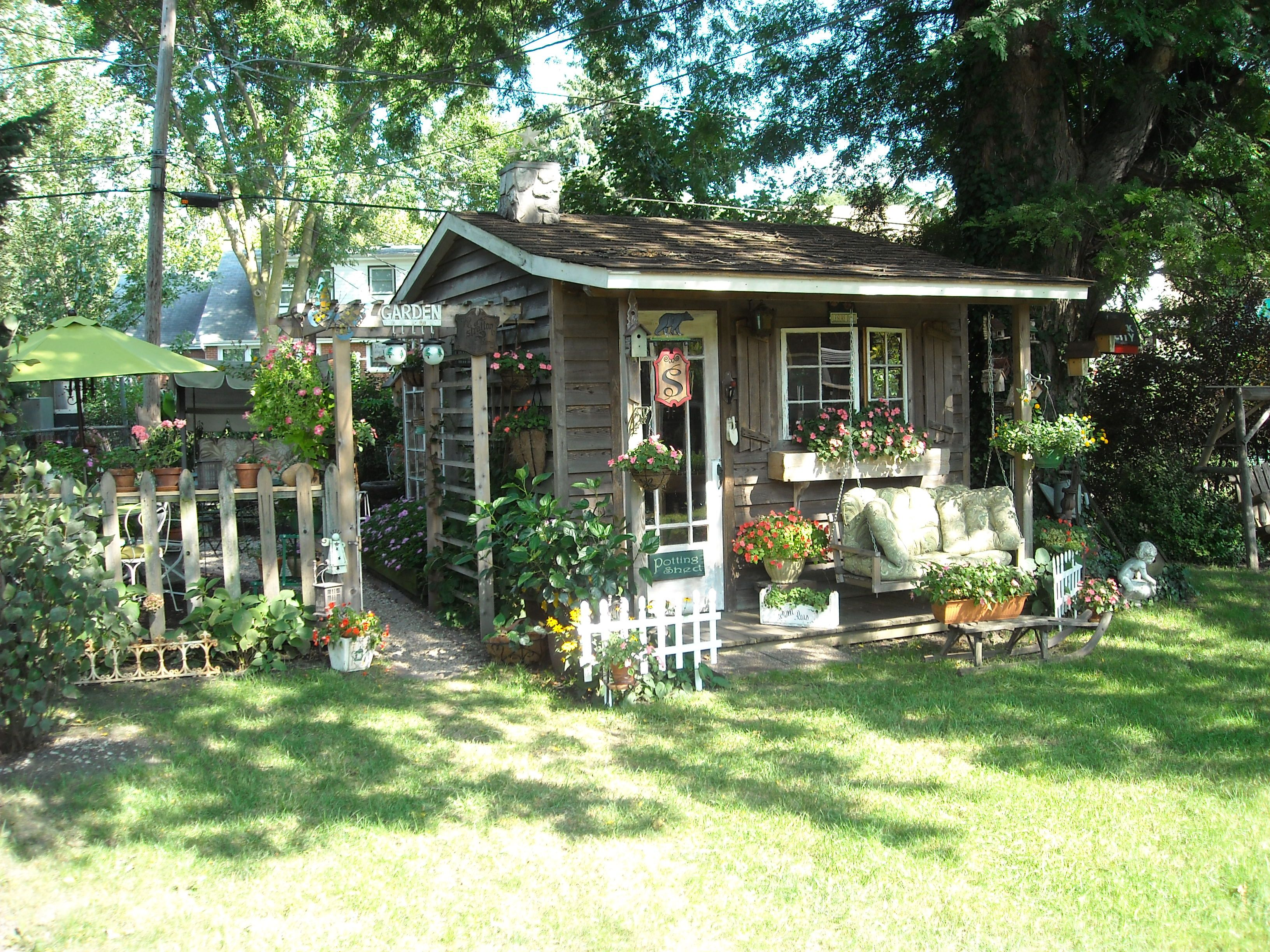 Love my potting shed beulah pinterest for Potting shed