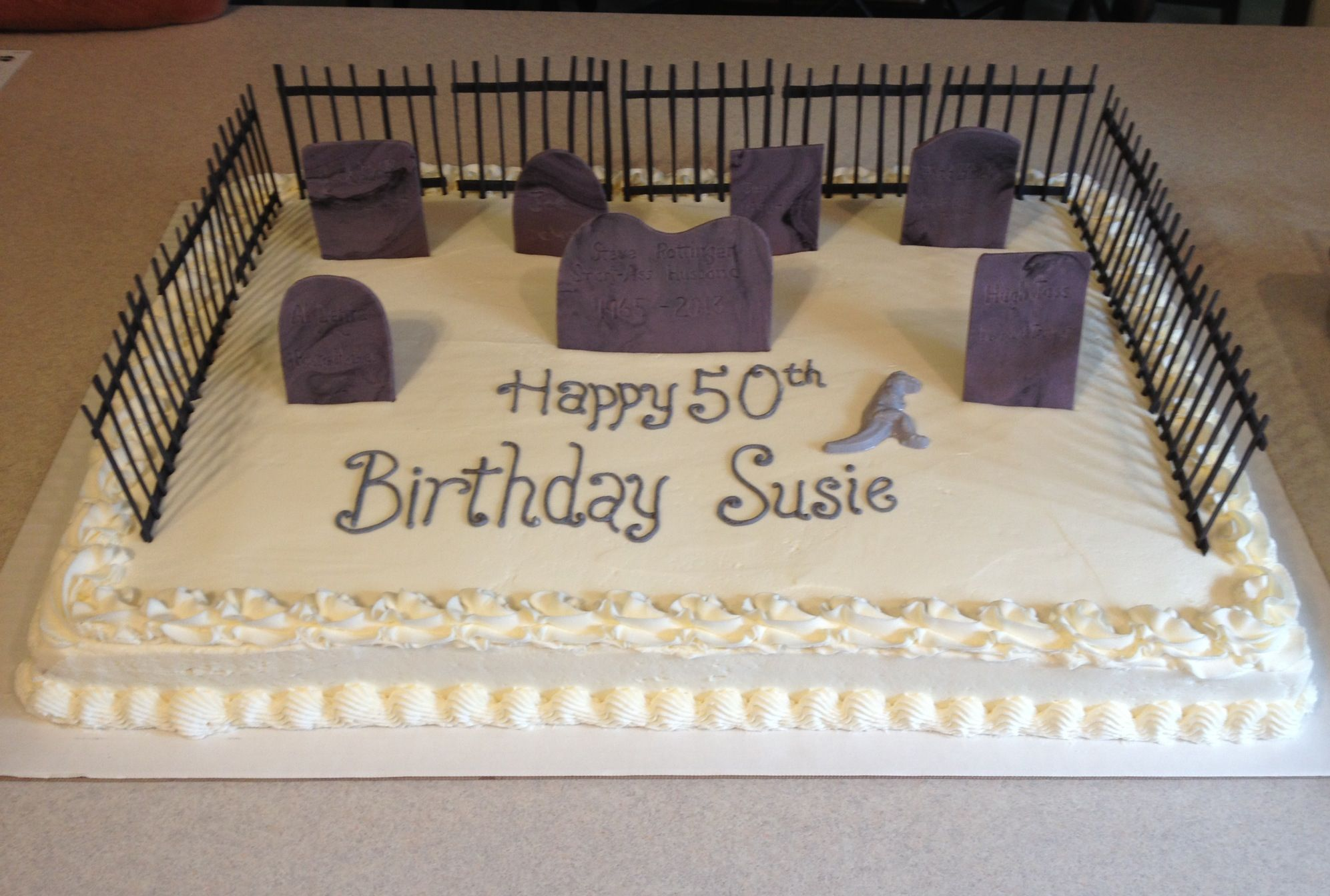 Cake Ideas For 50th Birthday Funny : Funny? 50th Birthday Cake Baking ideas Pinterest