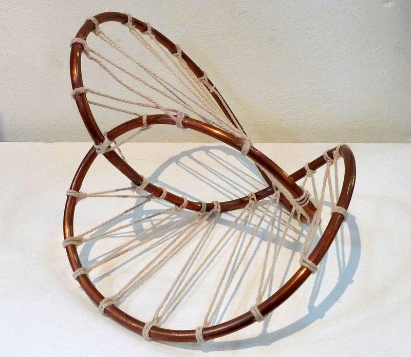 Tre Foil Tube Copper Tube And String Art Pinterest