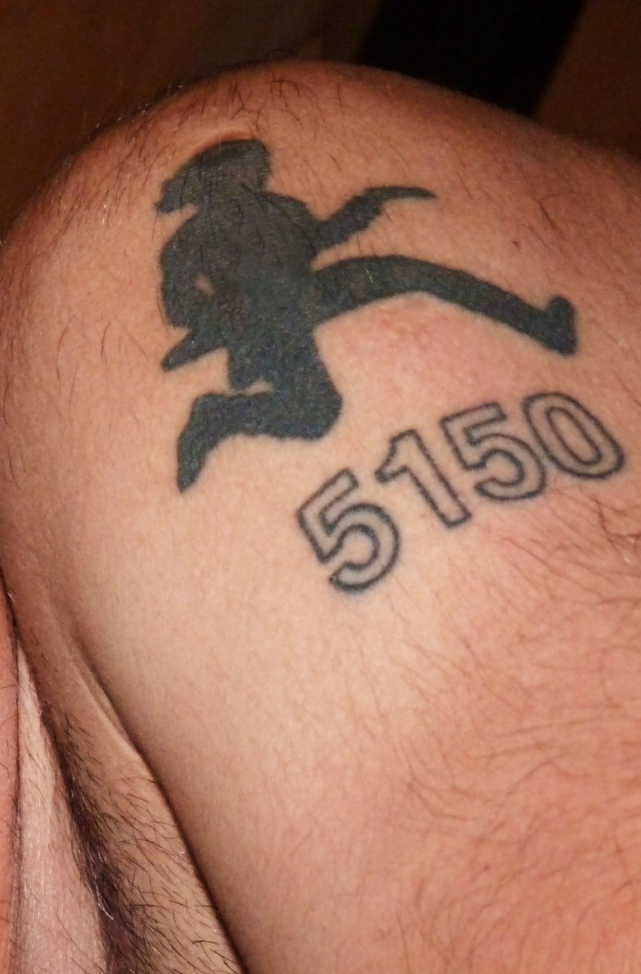 Van halen 5150 tattoo ideas pinterest for Tattoo van halen