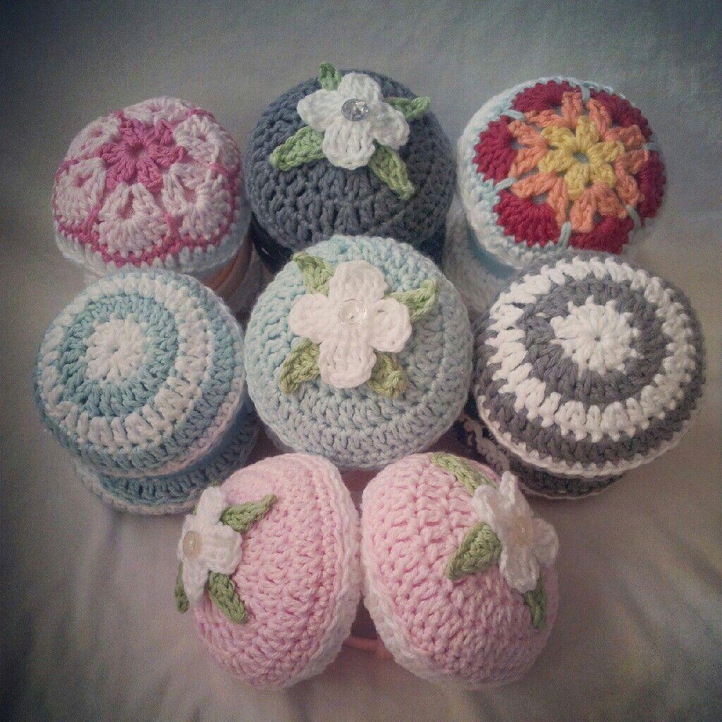 Crochet Free Pattern Muff : Crocheted ear muffs CROCHET GORROS Y SLIPPERS Pinterest