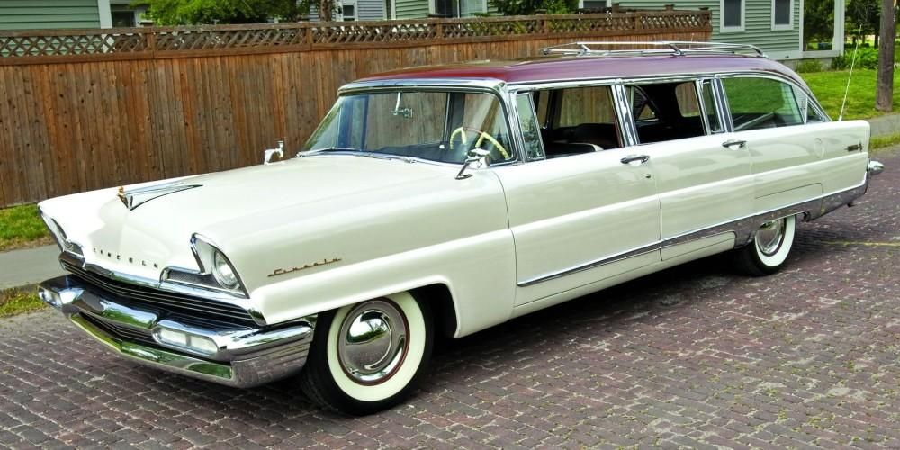 1956 lincoln pioneer station wagon luv yer chariot pinterest. Black Bedroom Furniture Sets. Home Design Ideas