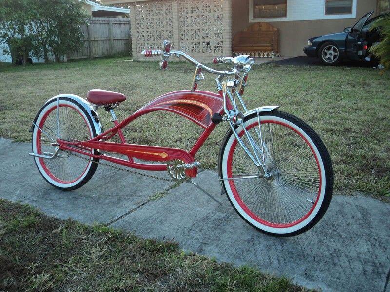 Stretch Beach Cruiser  Beach Cruiser Bikes  Pinterest
