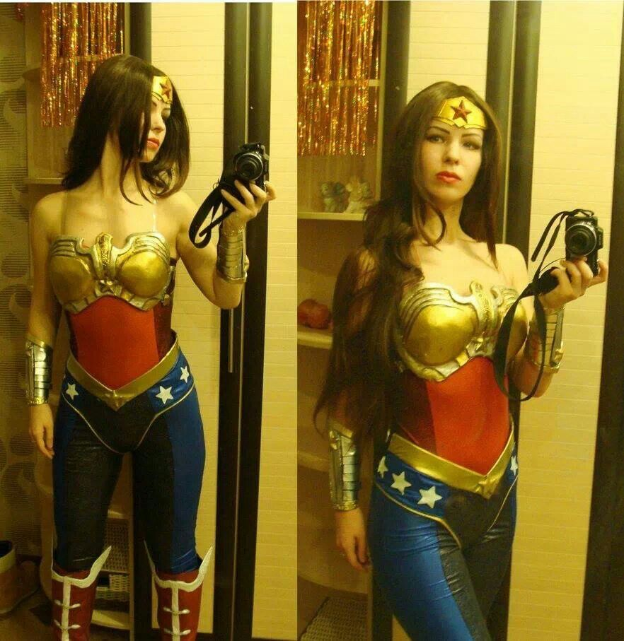 Wonder woman injustice gods among us cosplay pinterest