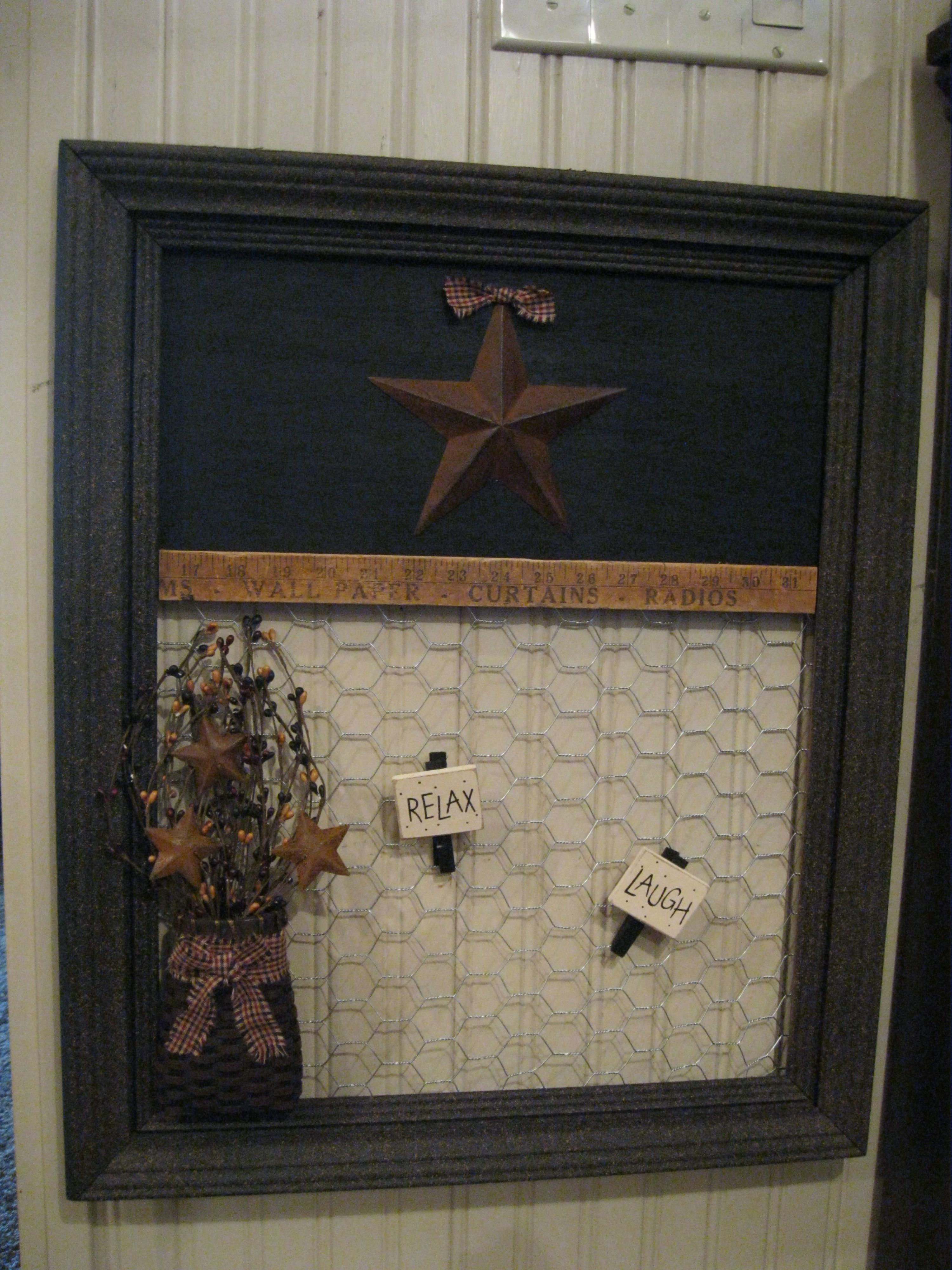 Chicken Wire Message Boards