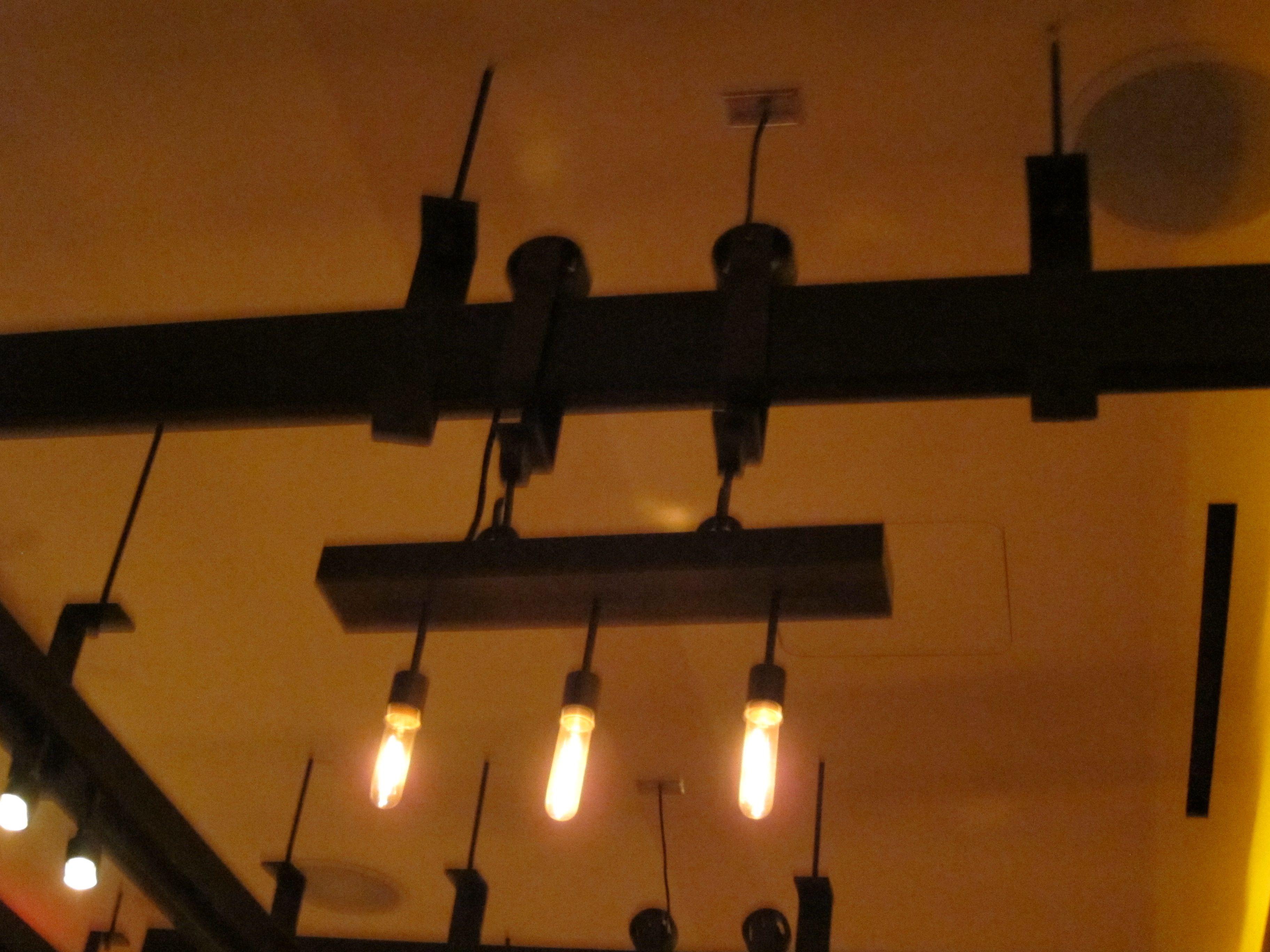 Industrial track lighting gbk pinterest for Industrial track lighting
