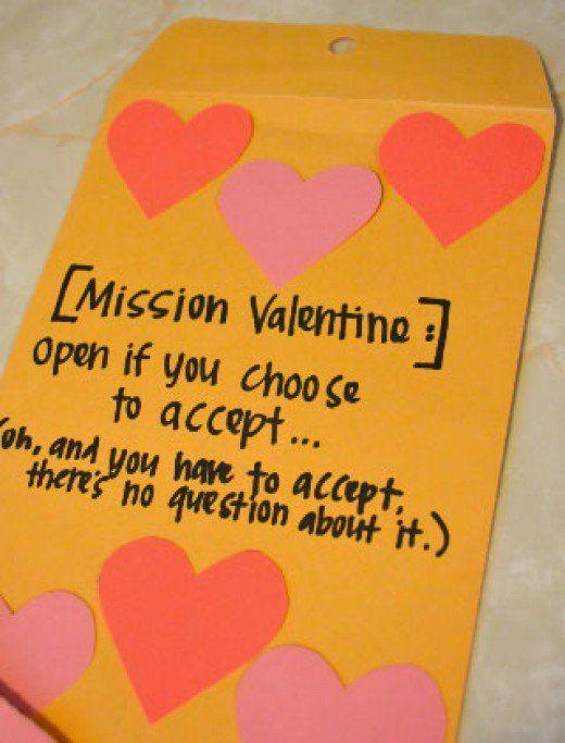 Valentine Scavenger Hunt | DIY Valentine Gifts for Boyfriend ...