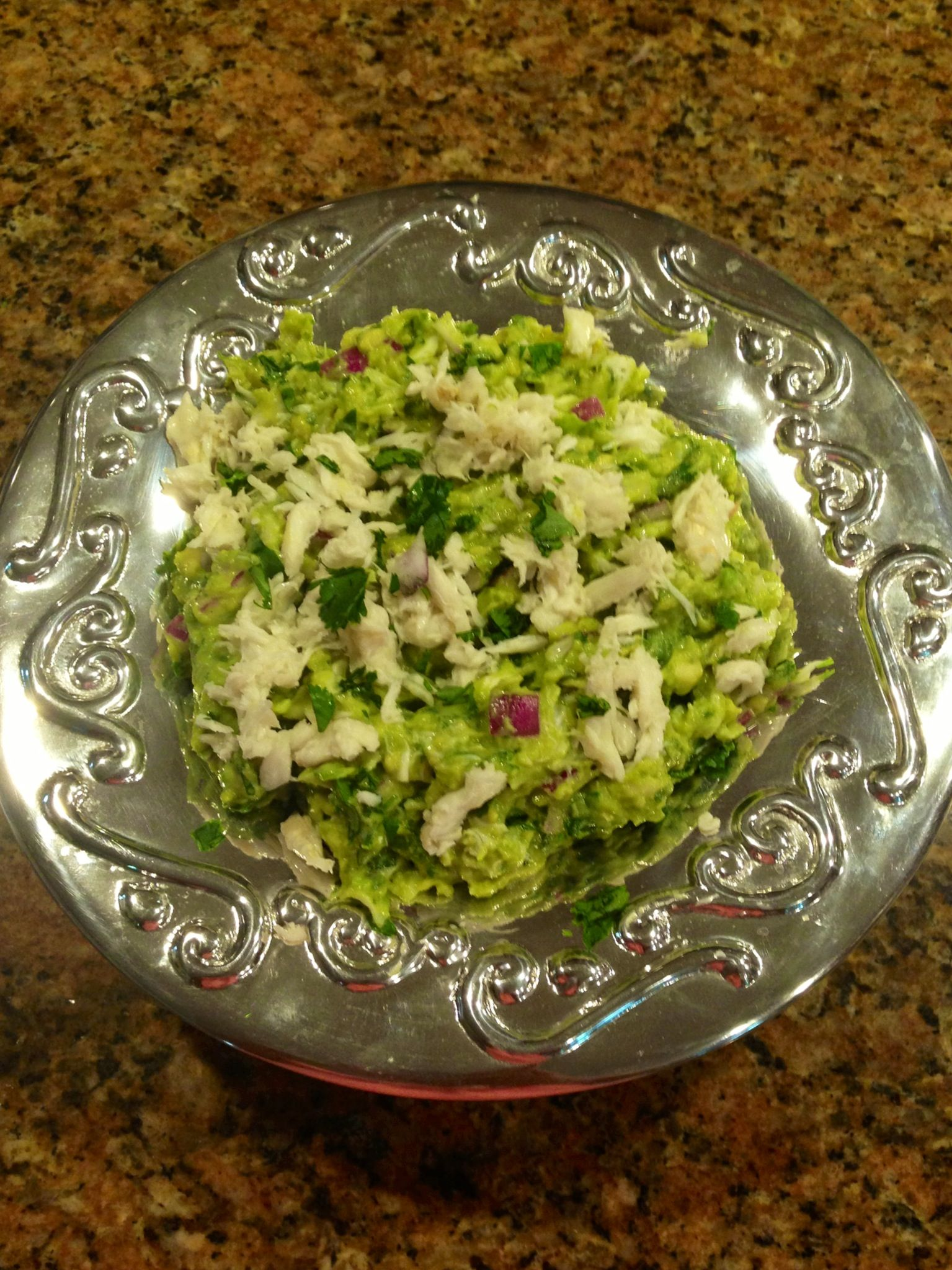 Lump Crab Guacamole | YUM | Pinterest