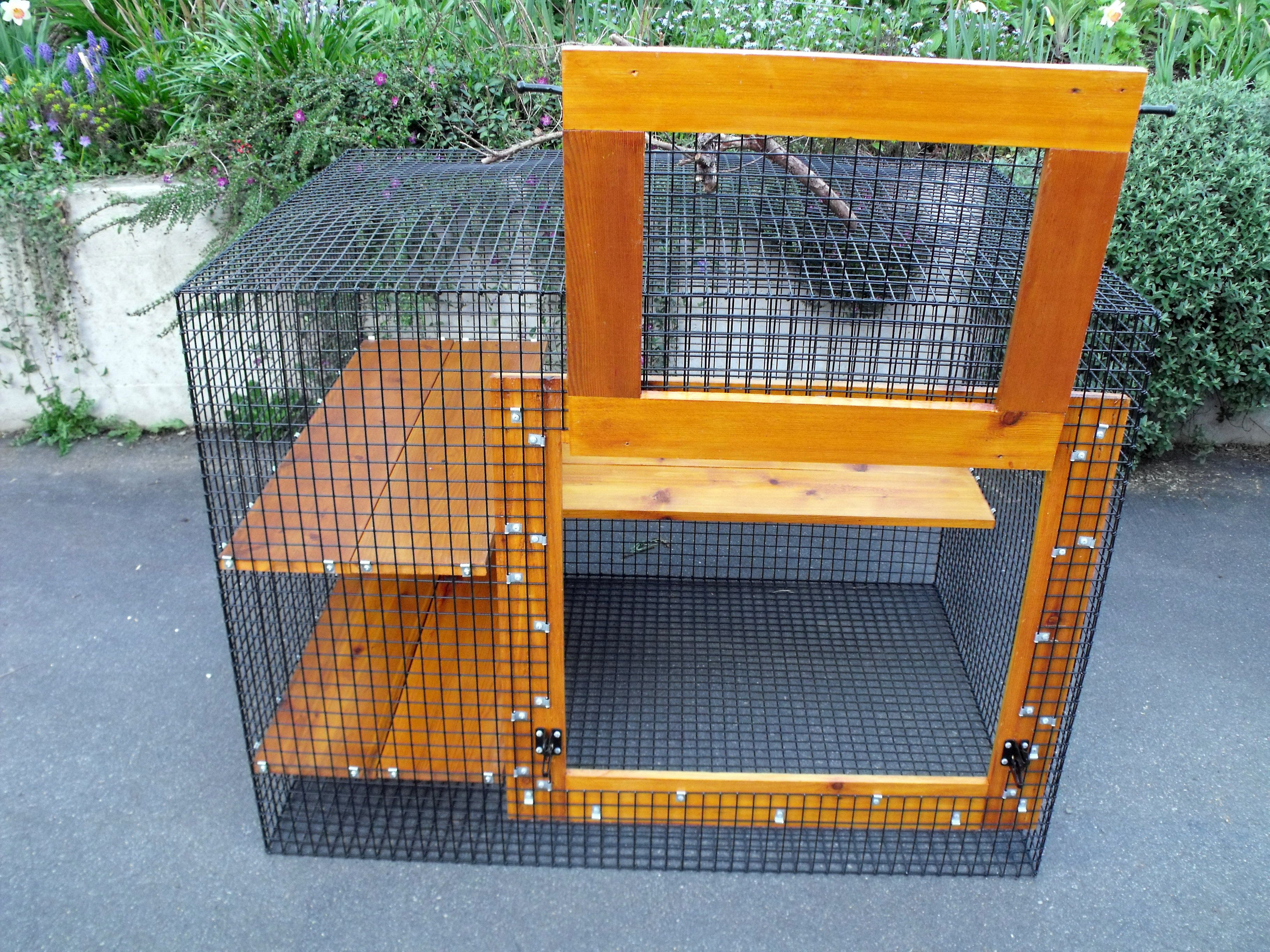 Portable Outdoor Dog Enclosures : Pin by john creviston on cat enclosures for other animals