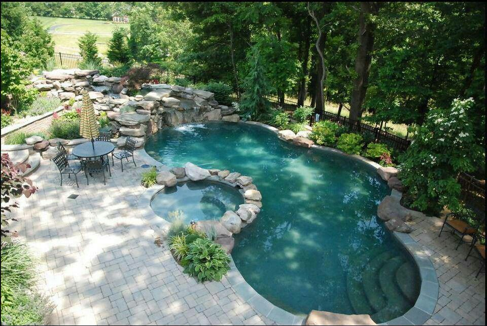 Beautiful Backyard Pool Future Home Pinterest