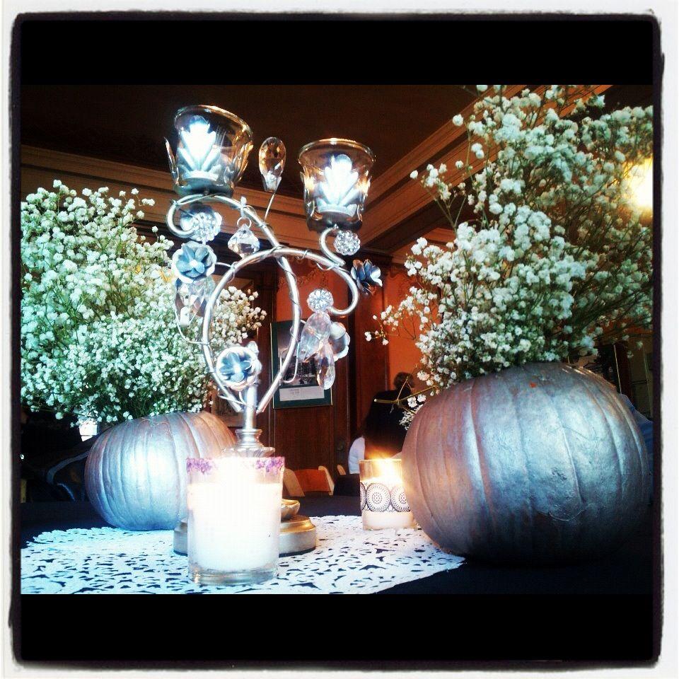 October wedding centerpiece burke ideas pinterest