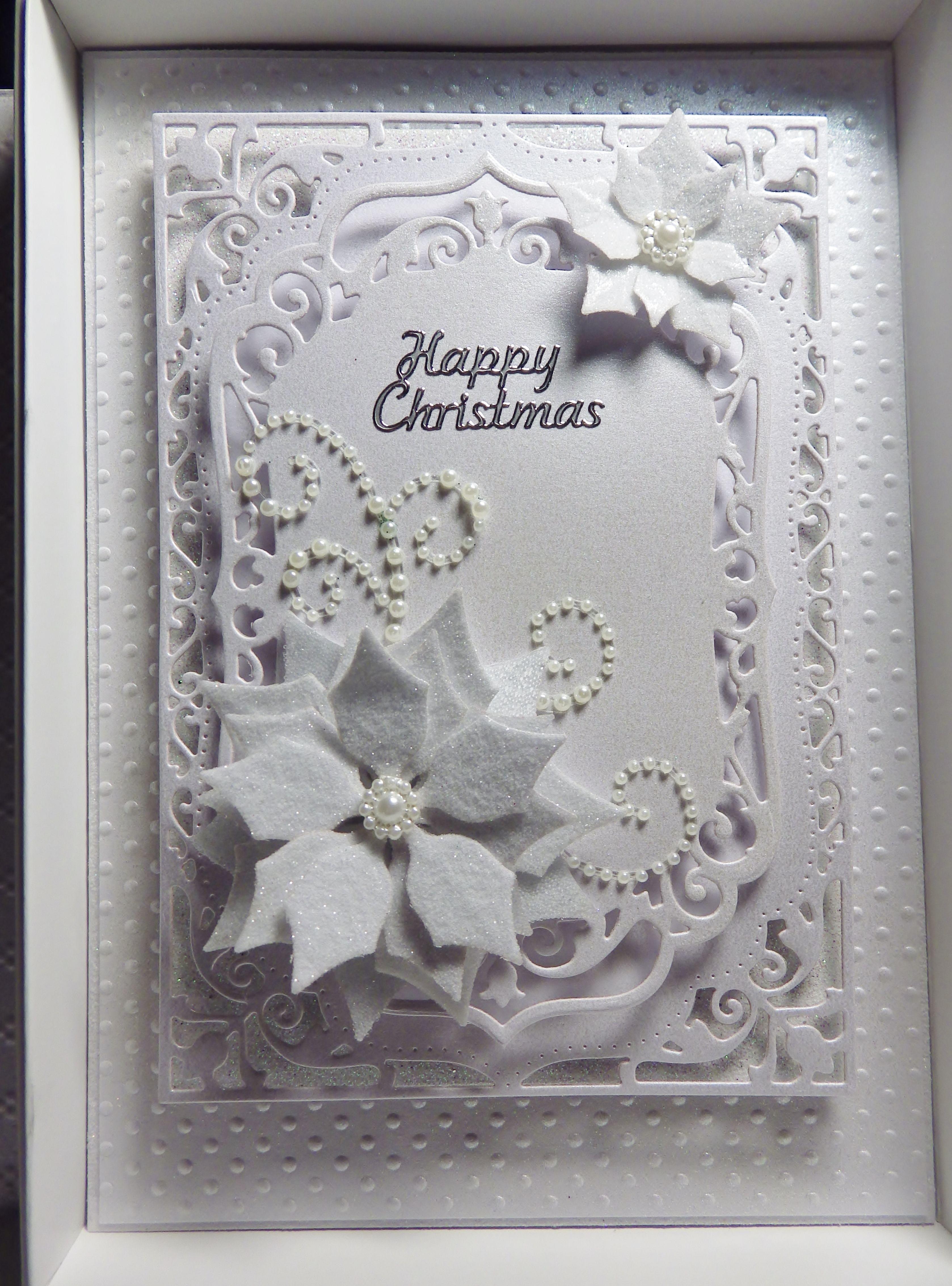 Spellbinders Christmas Card Cards Pinterest