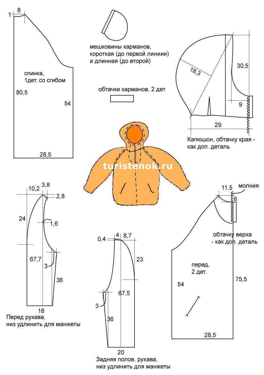 Как сделать детскую выкройку своими руками