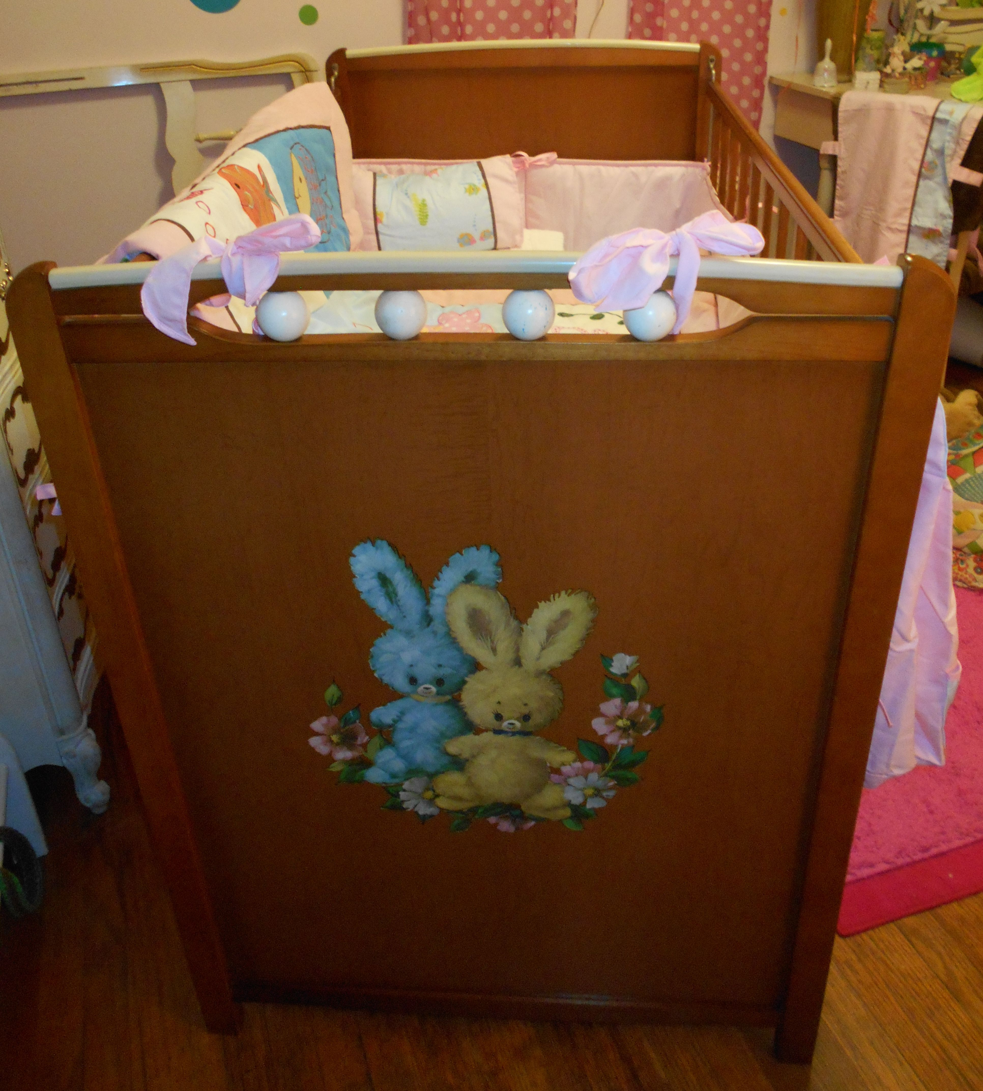 picture instructions on how to put a crib together