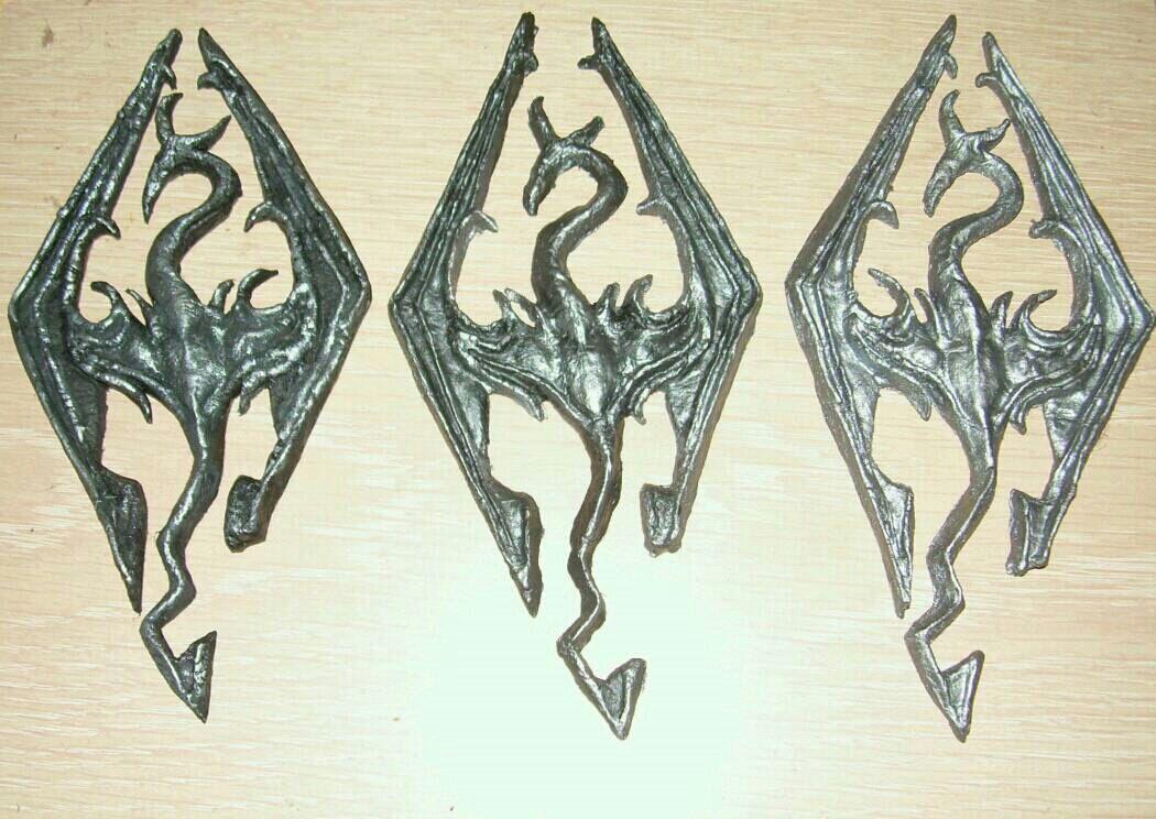 Logo di Skyrim in pasta di mais 5534adb3e1eb5bd50c500d5f516a2581
