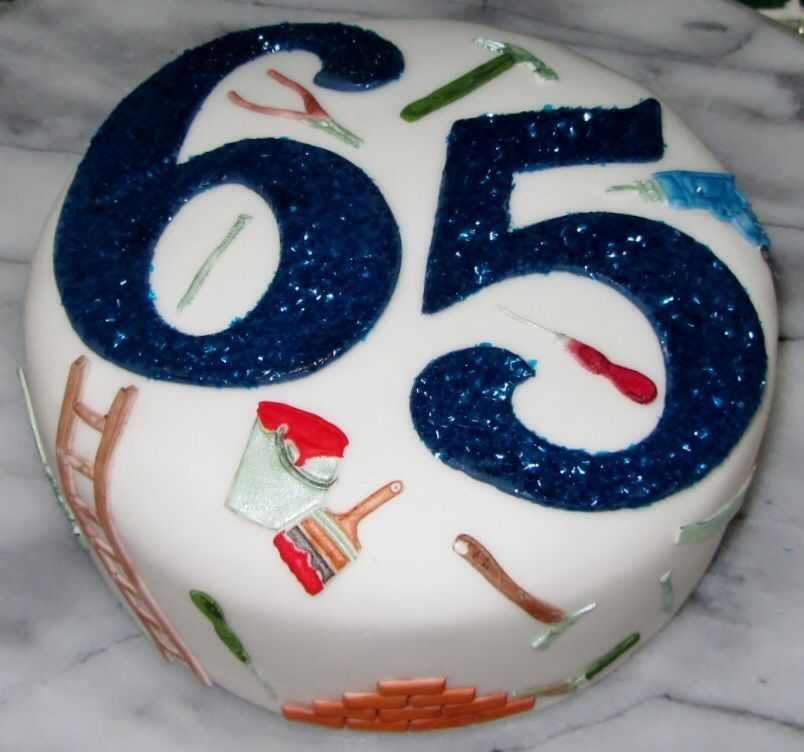 Share for 65th birthday party decoration ideas