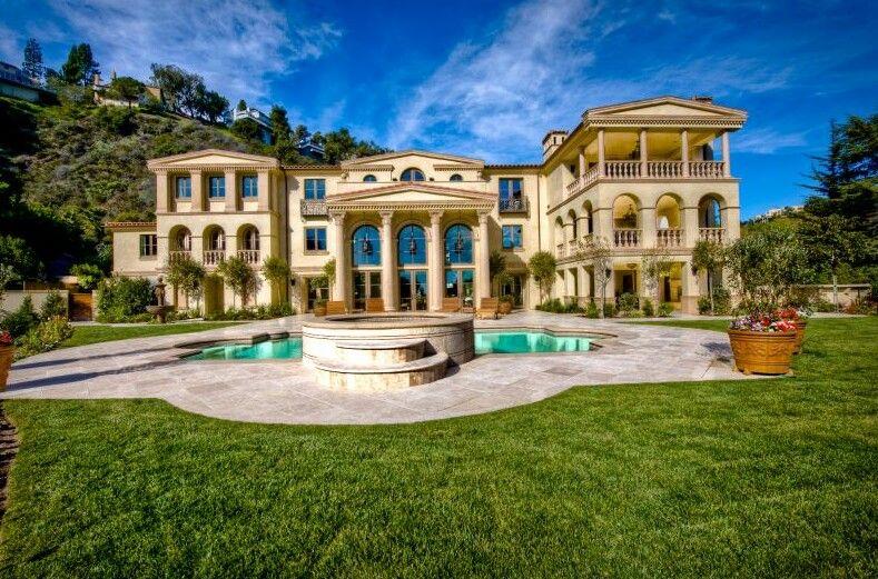 Beverly Hills Mansion Mansions Pinterest