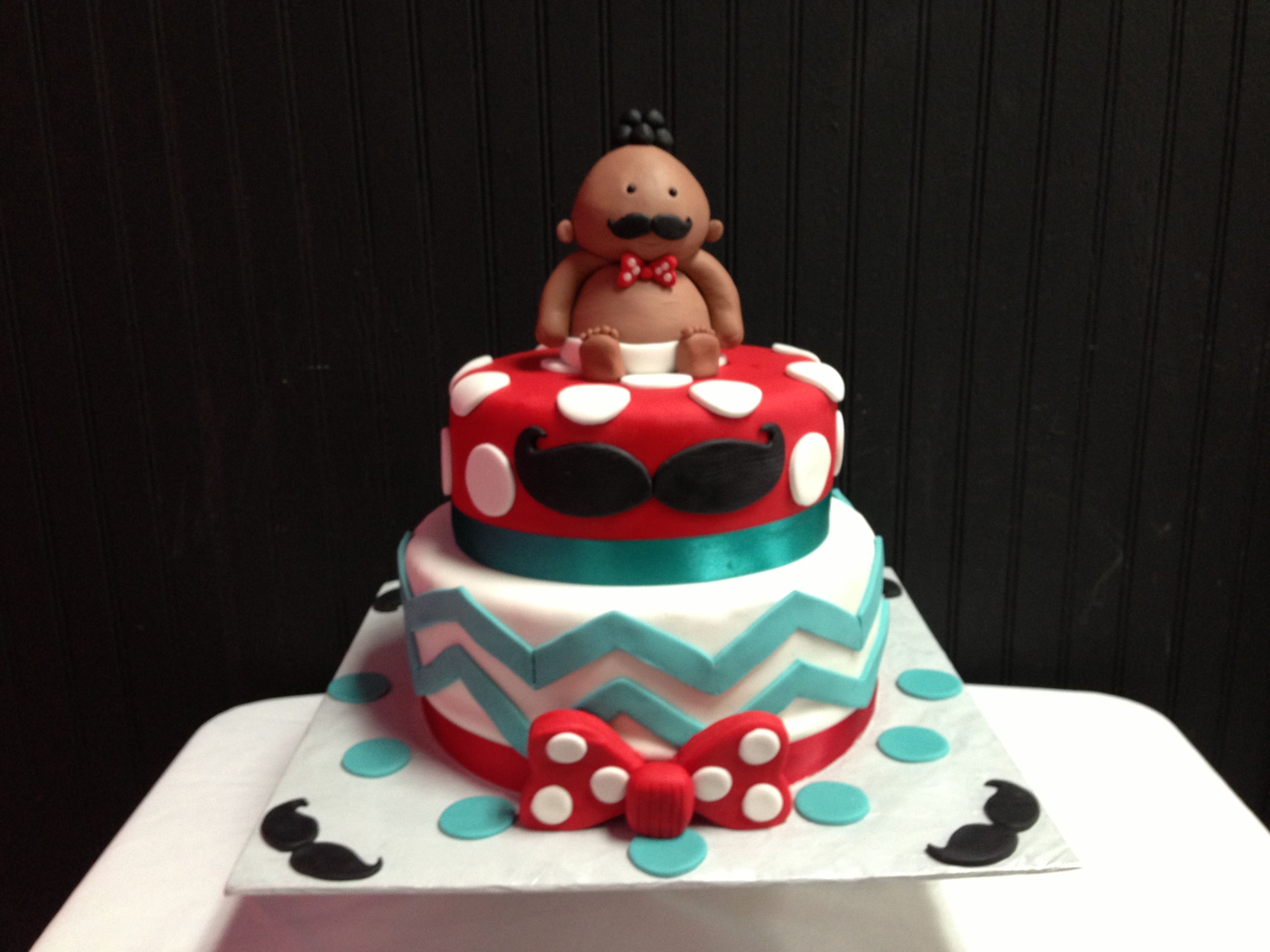 pin mustache baby shower cake by dolci di amie decorating ideas cake