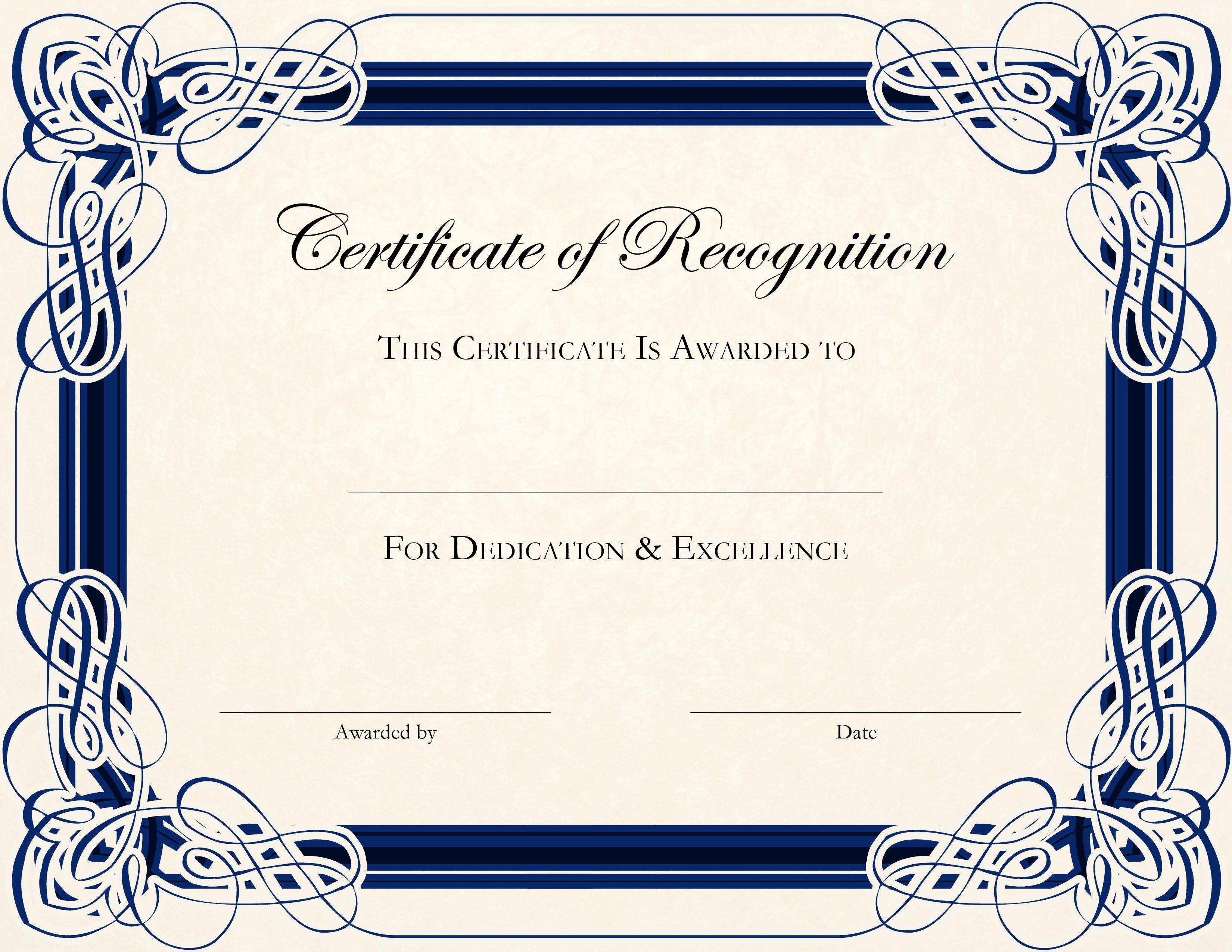 free certificate of deposit template | trattorialeondoro