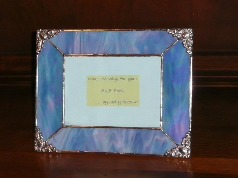 stained glass photo frame make mine glass