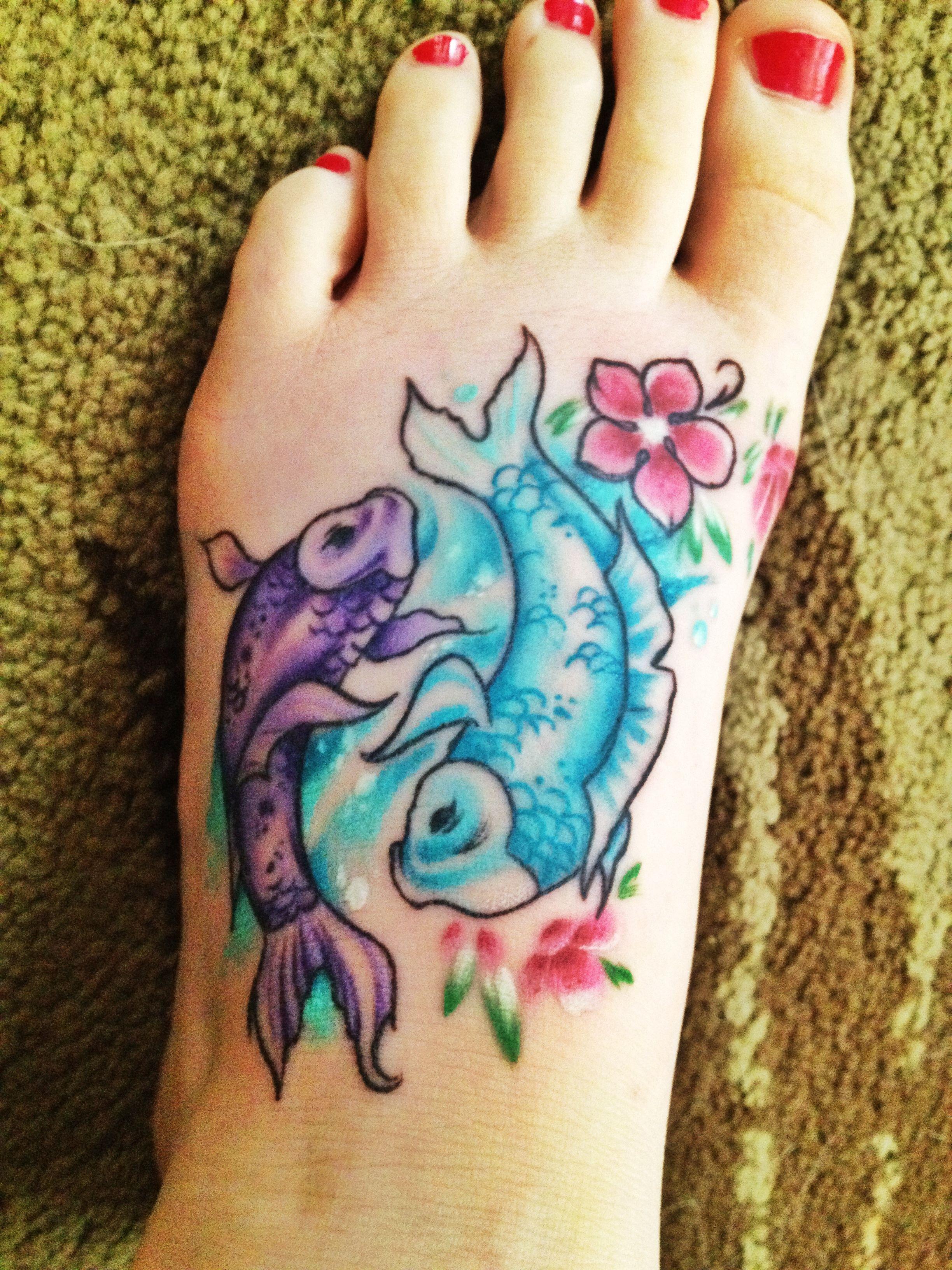 fish tattoos, Fish T