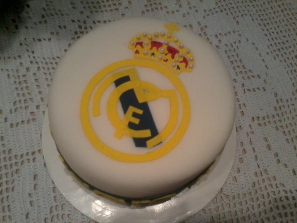 Real Madrid cake Torta Pinterest