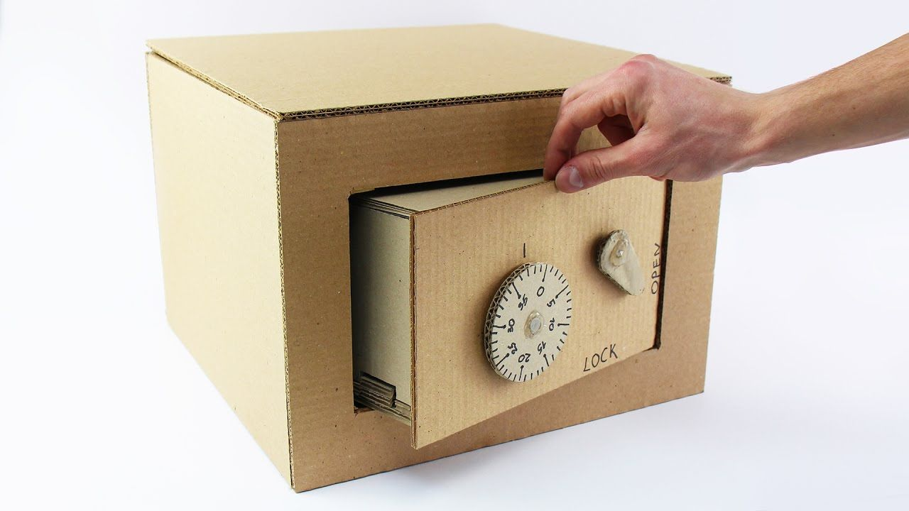 Как сделать копилку из коробки