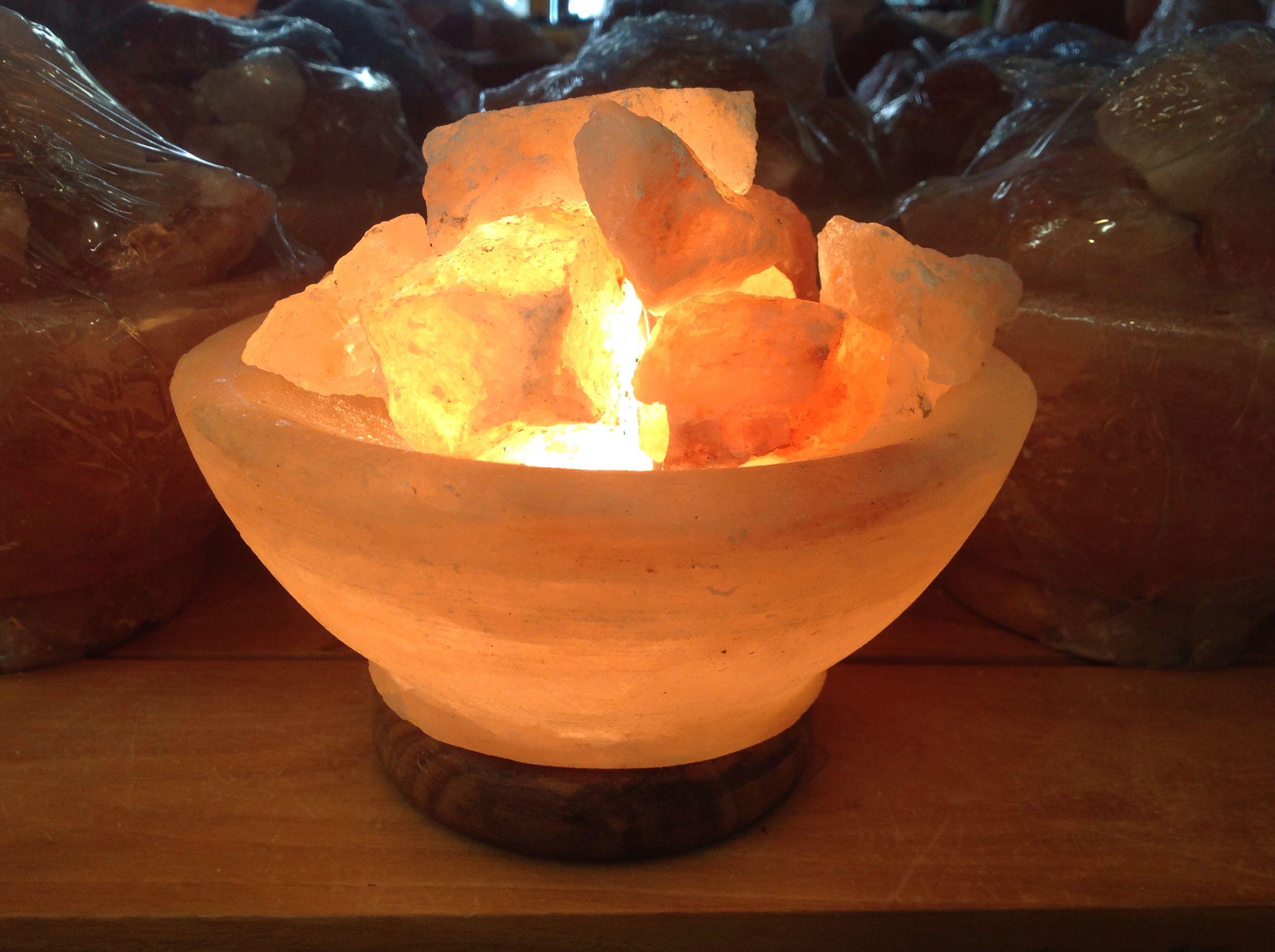 Village Originals Salt Lamps : Pin it Like Image