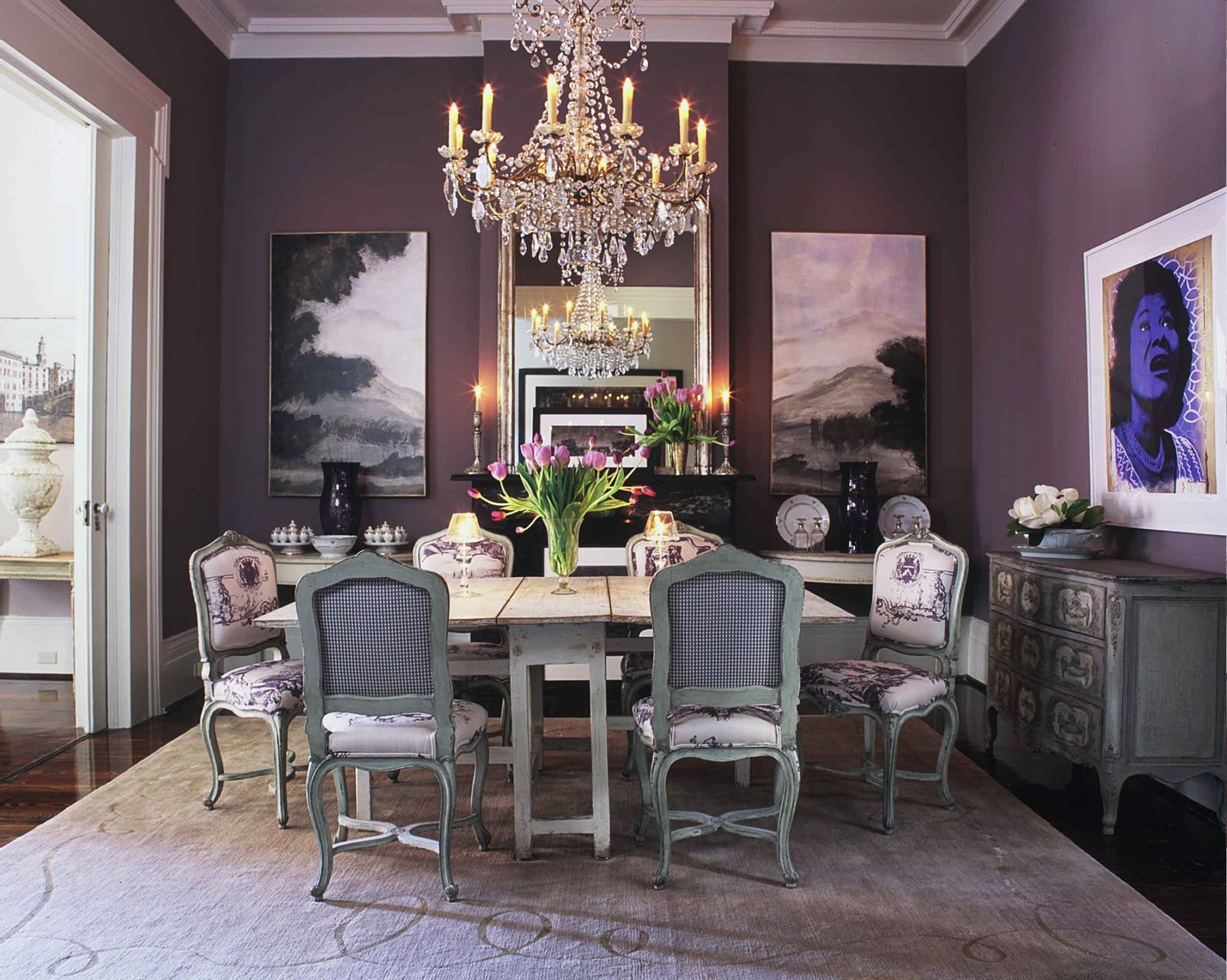Our Dining Room New Orleans Southern Style Pinterest