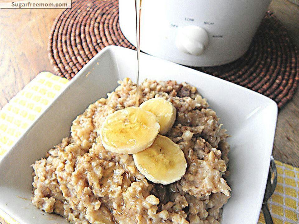 Crock pot banana steel cut oats crock pot pinterest