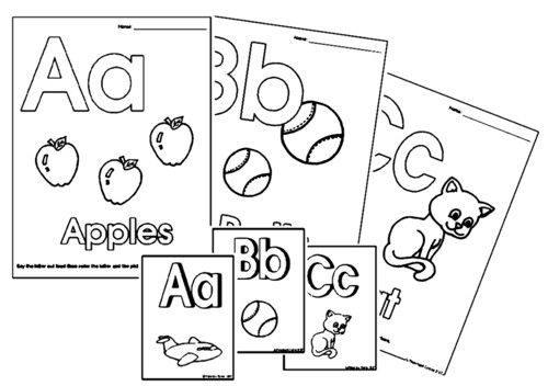 Printable Alphabet Letters For Preschoolers – Free Printable Toddler Worksheets