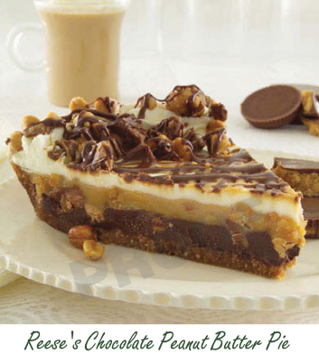 Reese's Choclate Peanut Butter Pie | Delicious | Pinterest