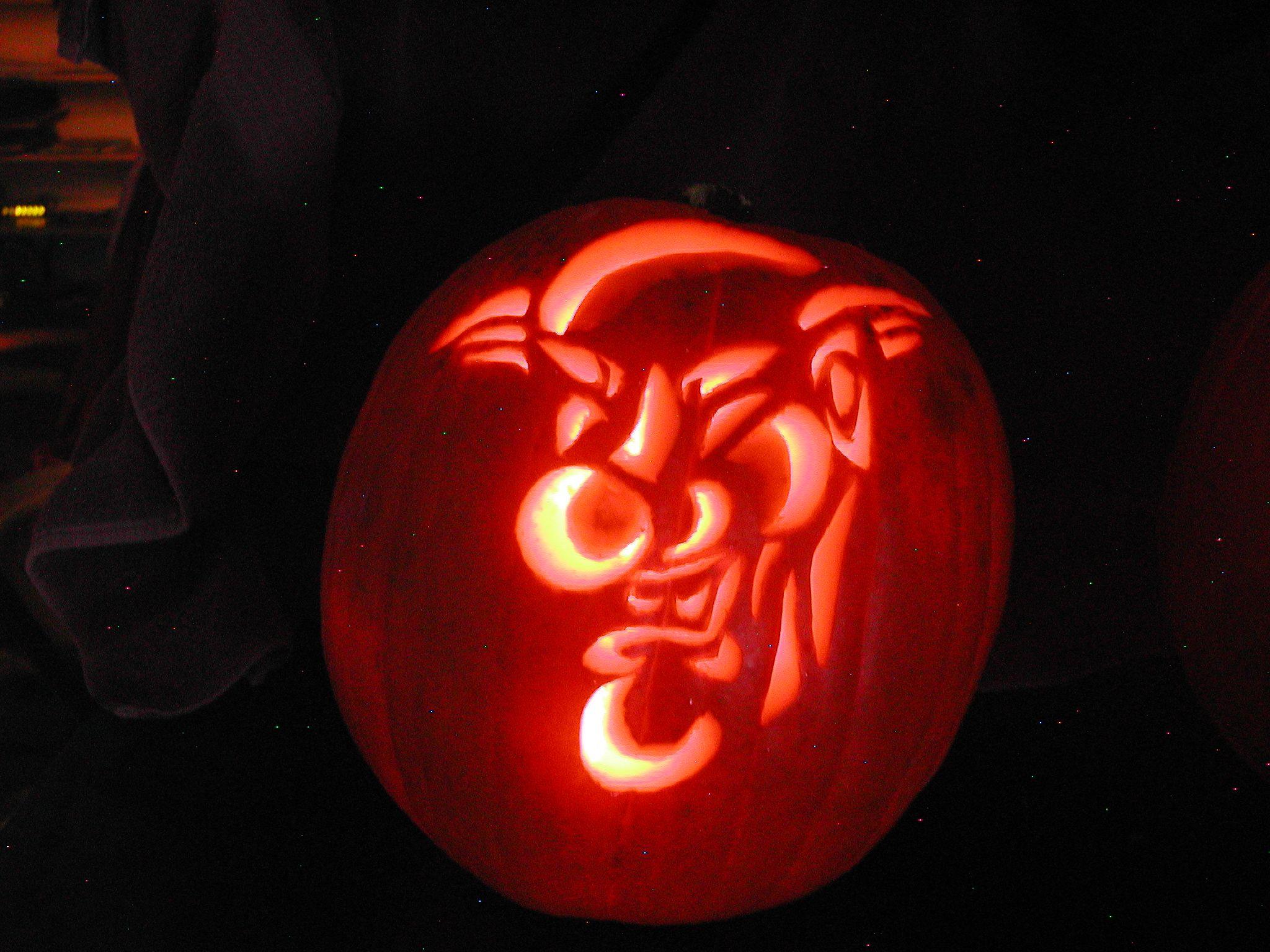 Clown Pumpkin Pumpkin Carving Ideas Pinterest