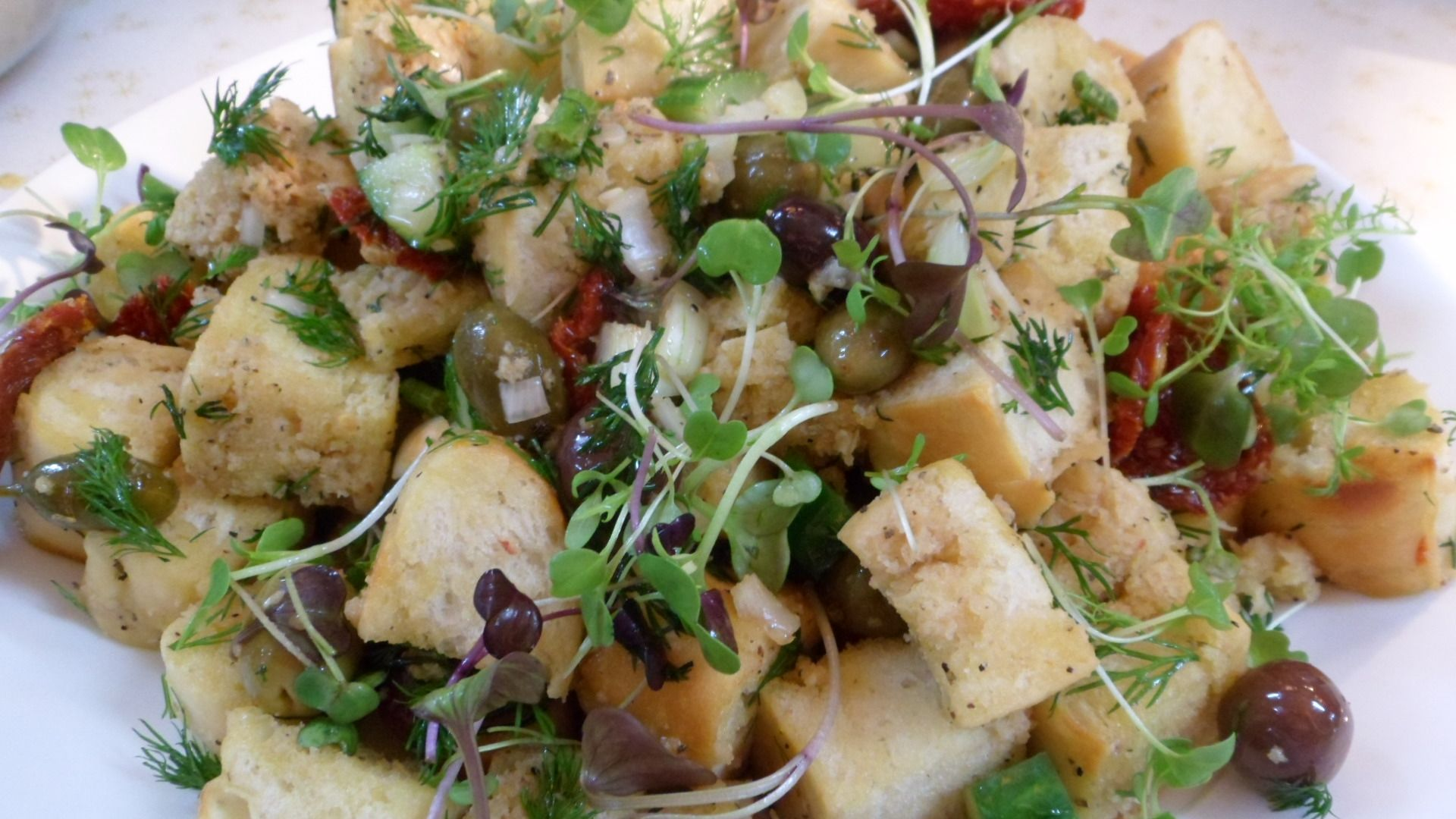 Panzanella bread salad | www.chefkevinblakeman.com | Pinterest