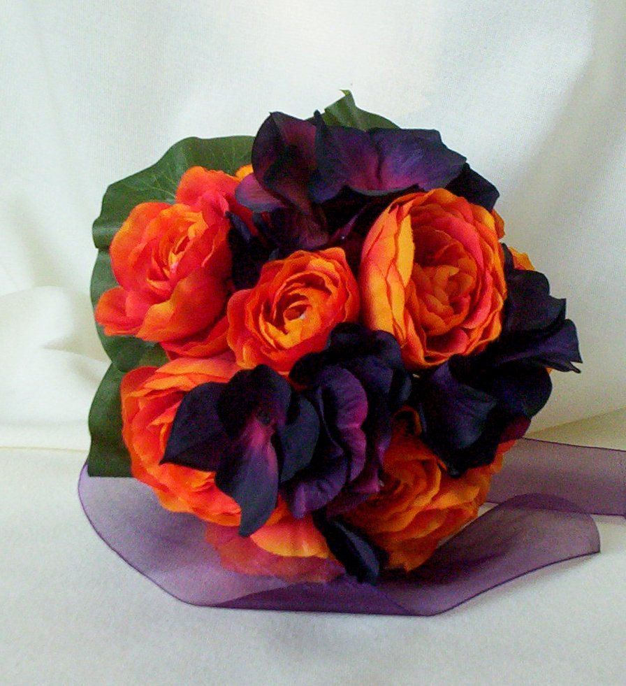 Fall Wedding Flowers Orange : Flowers orange and purple when that day comes