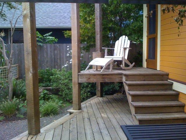 Tiered Backyard Decks : tiered deck  deck side  Pinterest