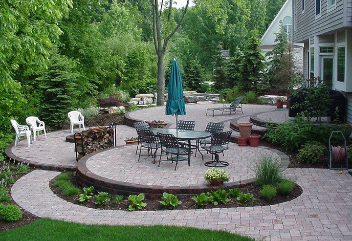 Small backyard ideas cottage outdoor pinterest for Pinterest small patio ideas