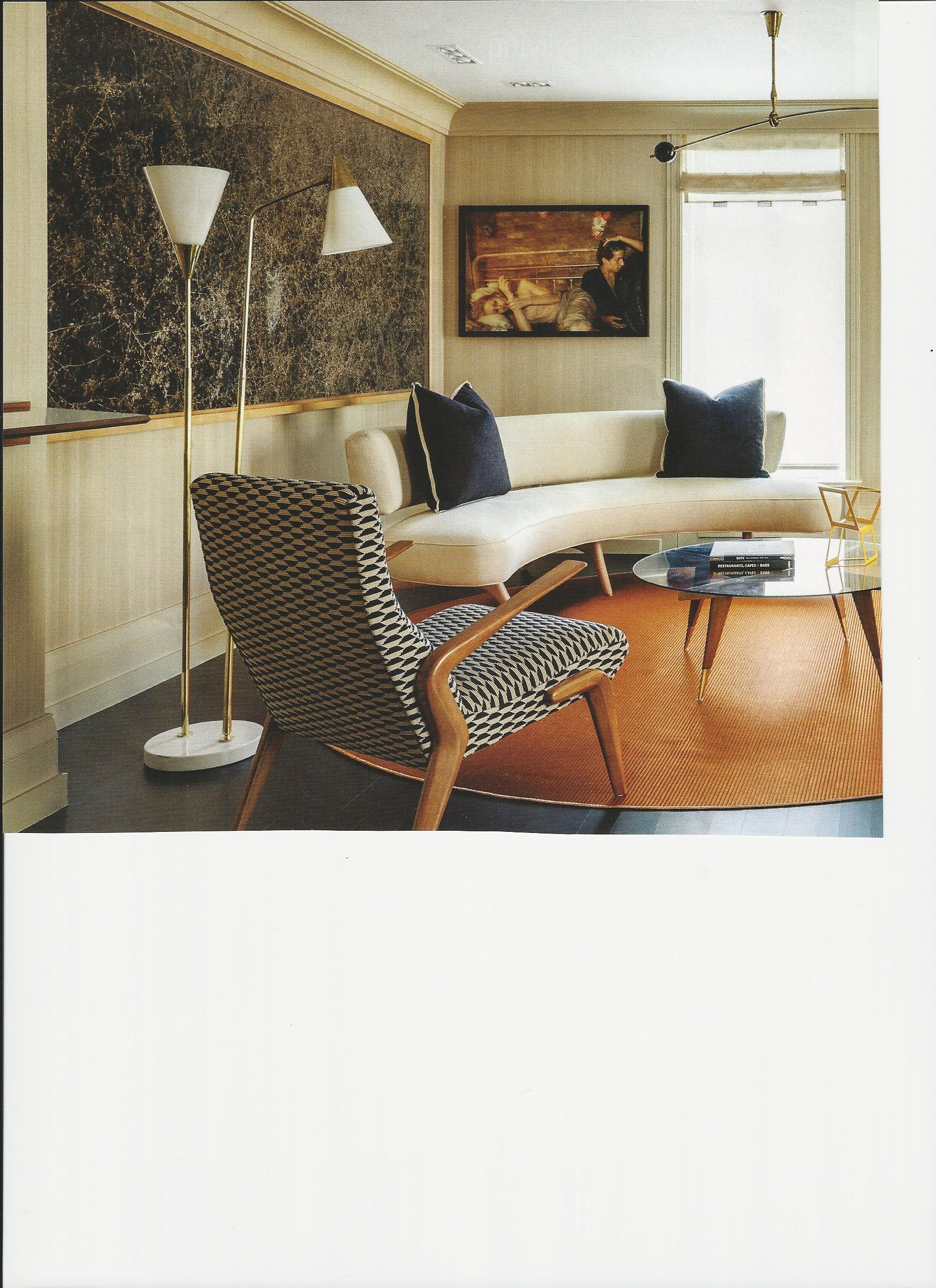 curved lines | Living Room - Contemporary | Pinterest