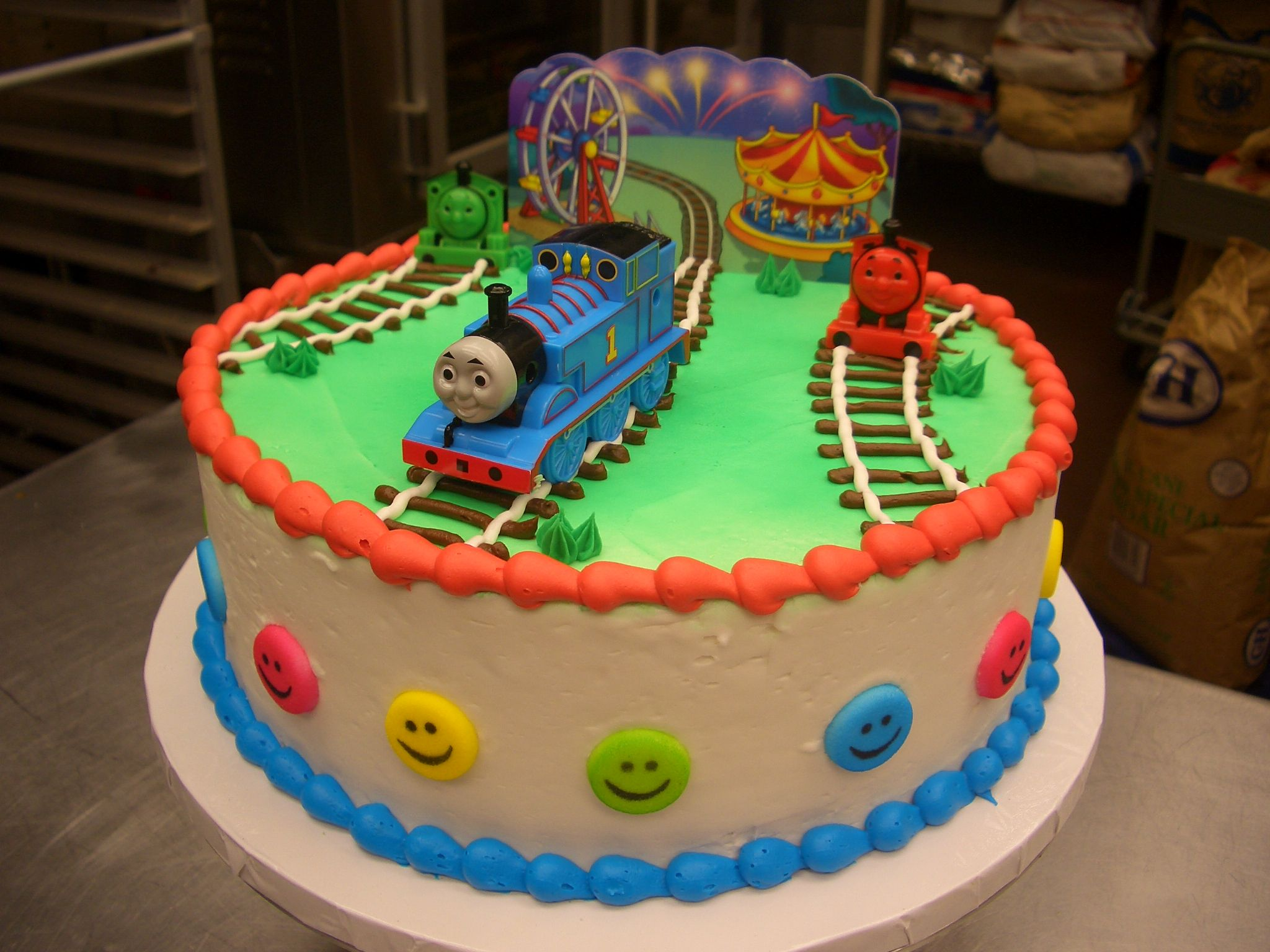 Cake Images Of Thomas The Train : Thomas the Train cakes/cupcakes Pinterest
